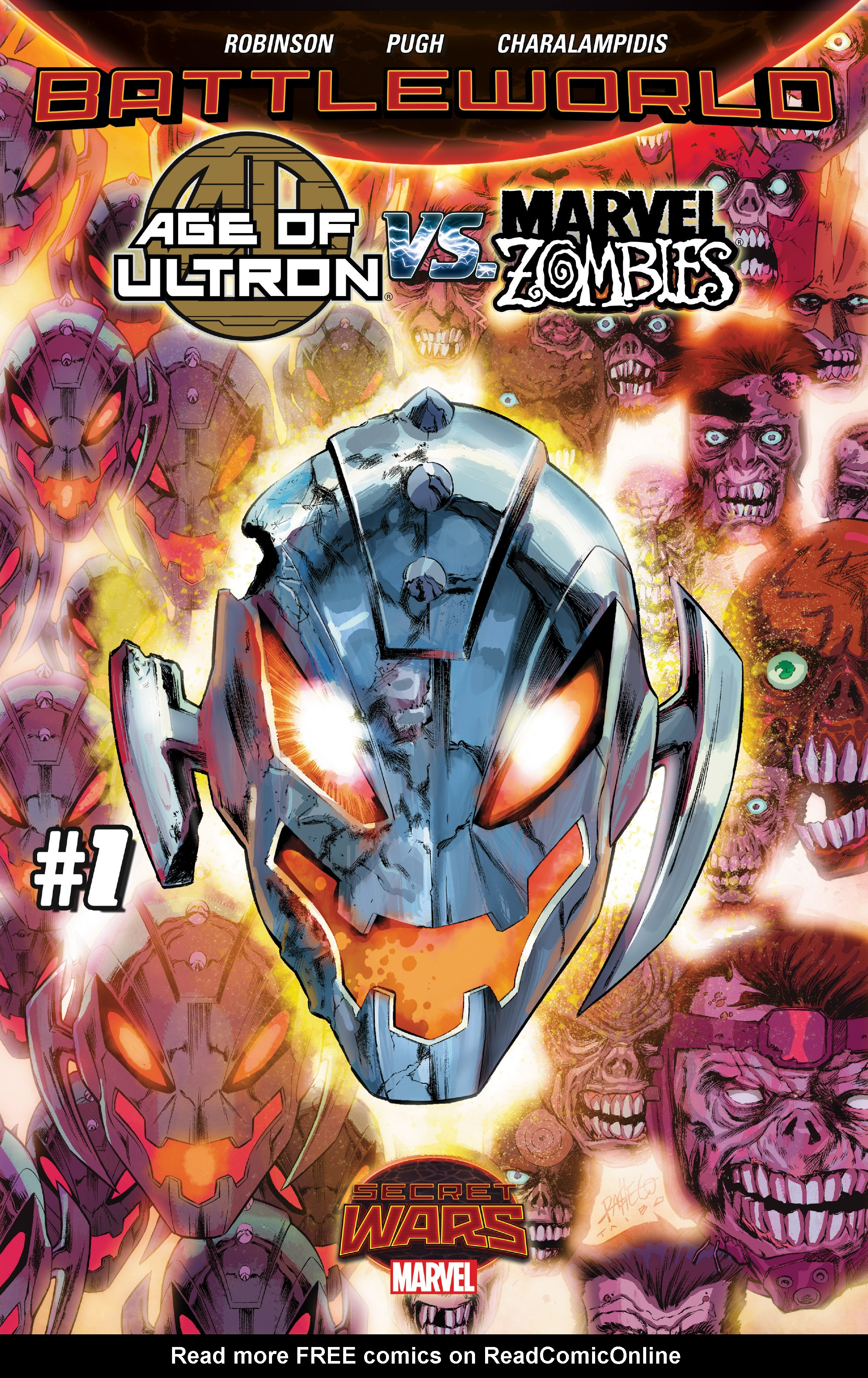 Read online Age of Ultron Vs. Marvel Zombies comic -  Issue #1 - 1