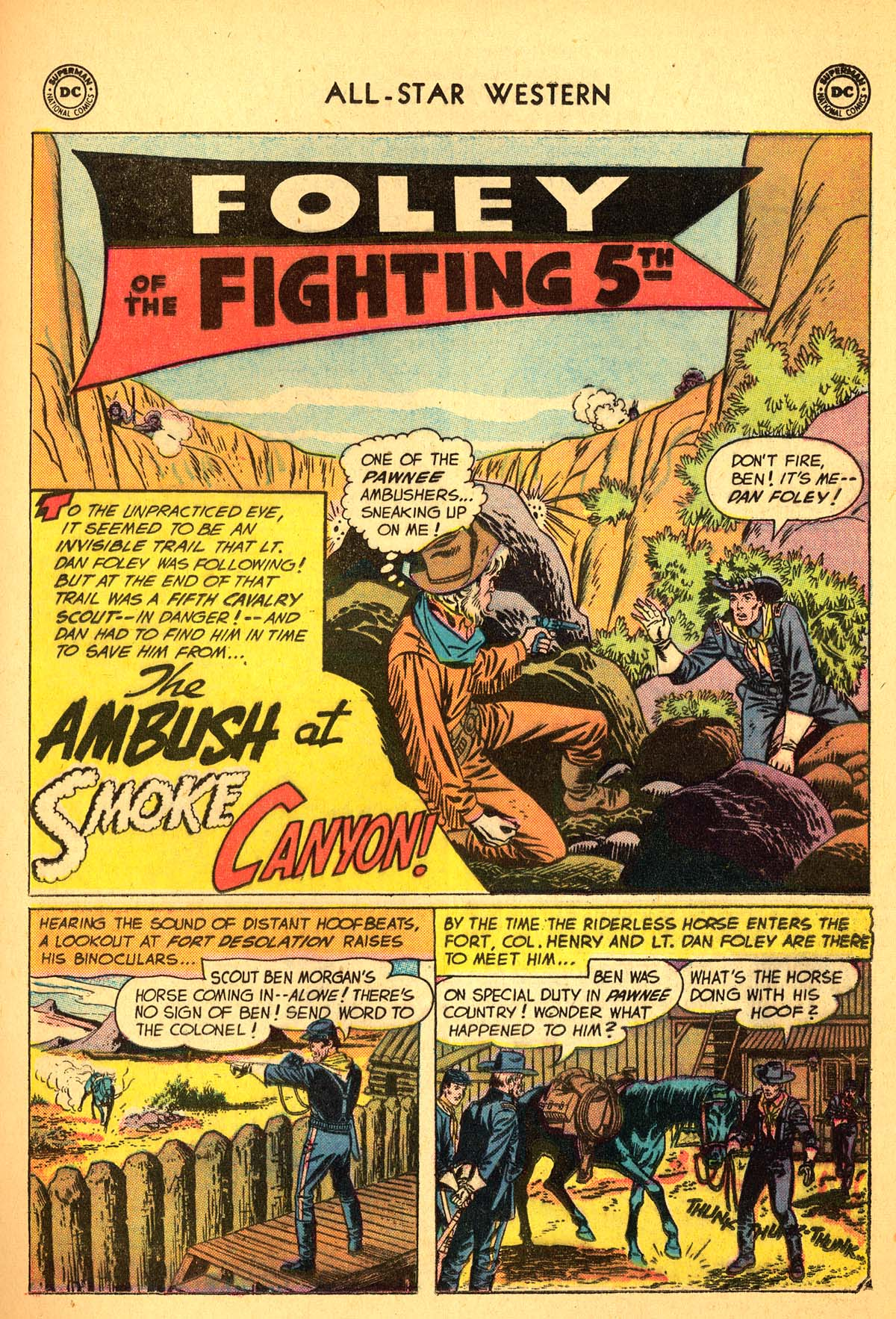 Read online All-Star Western (1951) comic -  Issue #99 - 21