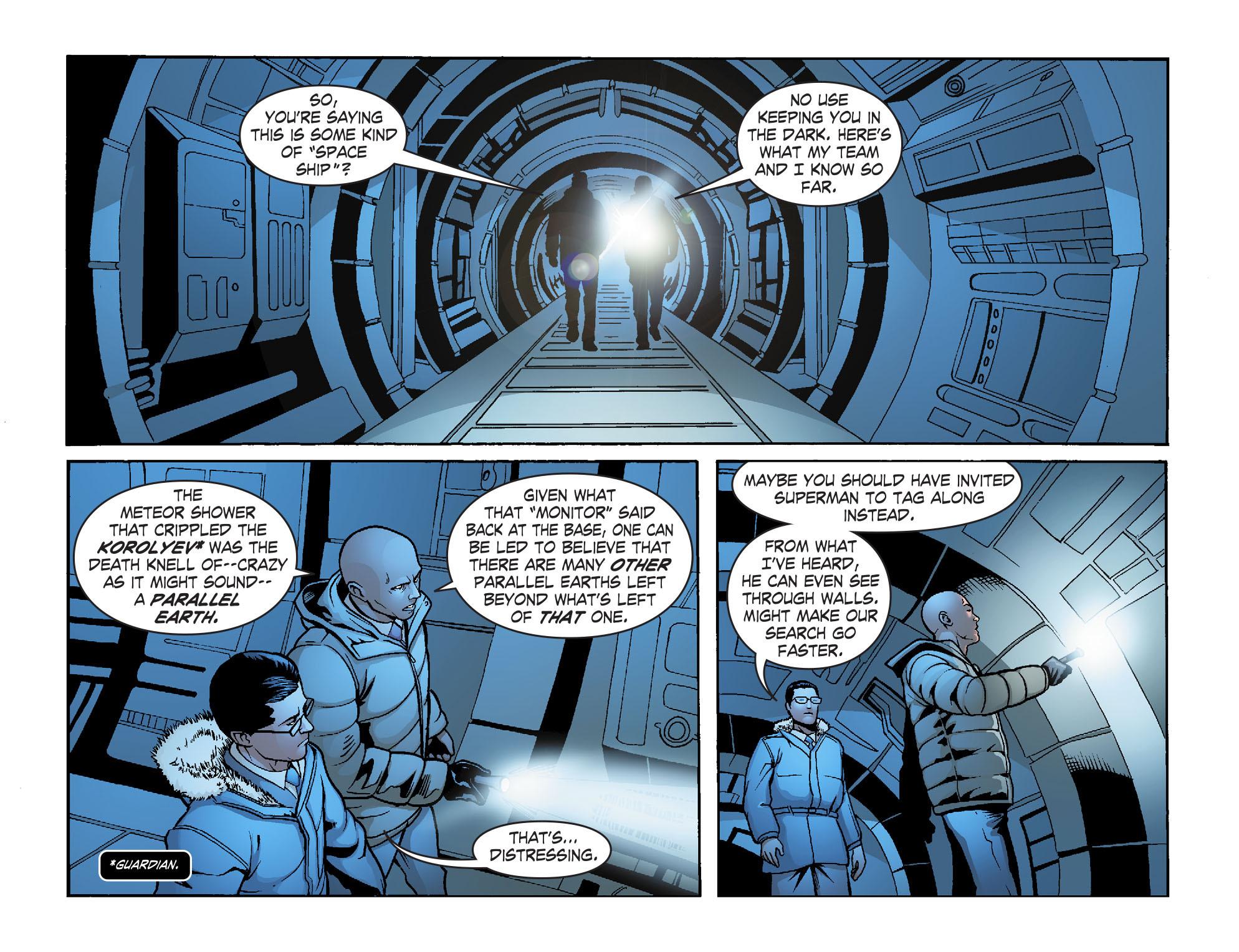 Read online Smallville: Alien comic -  Issue #8 - 17