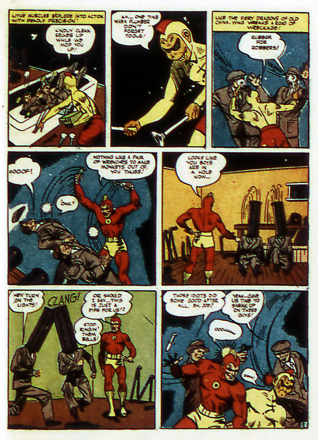 Read online Detective Comics (1937) comic -  Issue #72 - 36