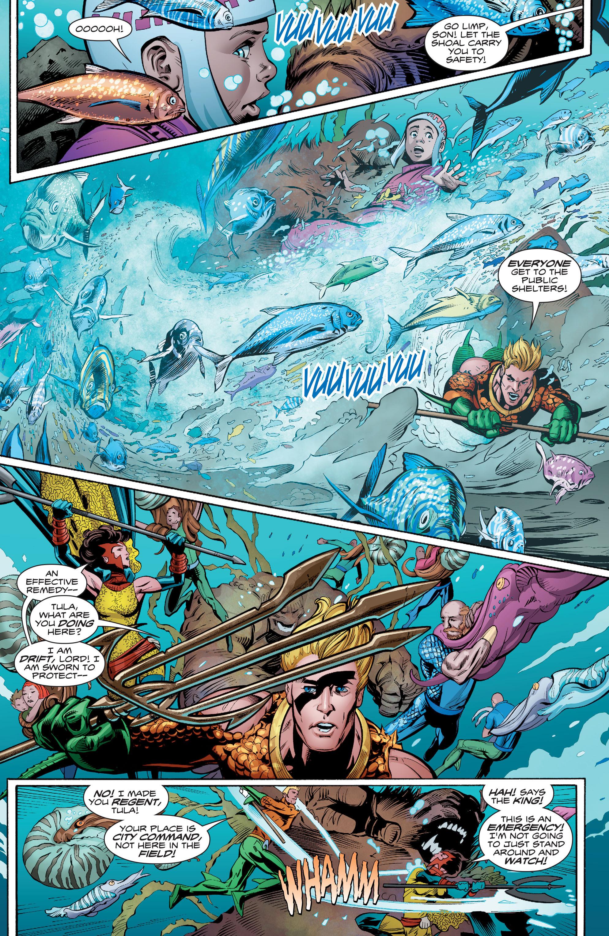 Read online Aquaman (2016) comic -  Issue #8 - 17