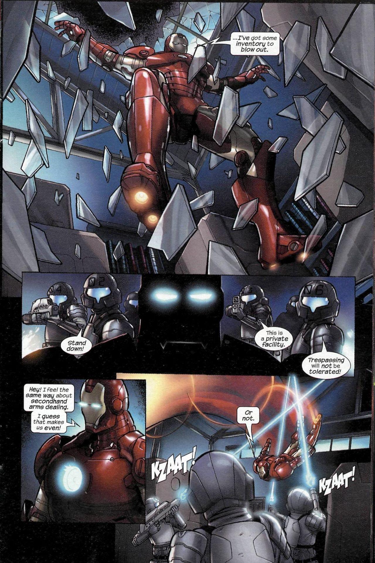 Read online Sega Iron Man Special comic -  Issue # Full - 7