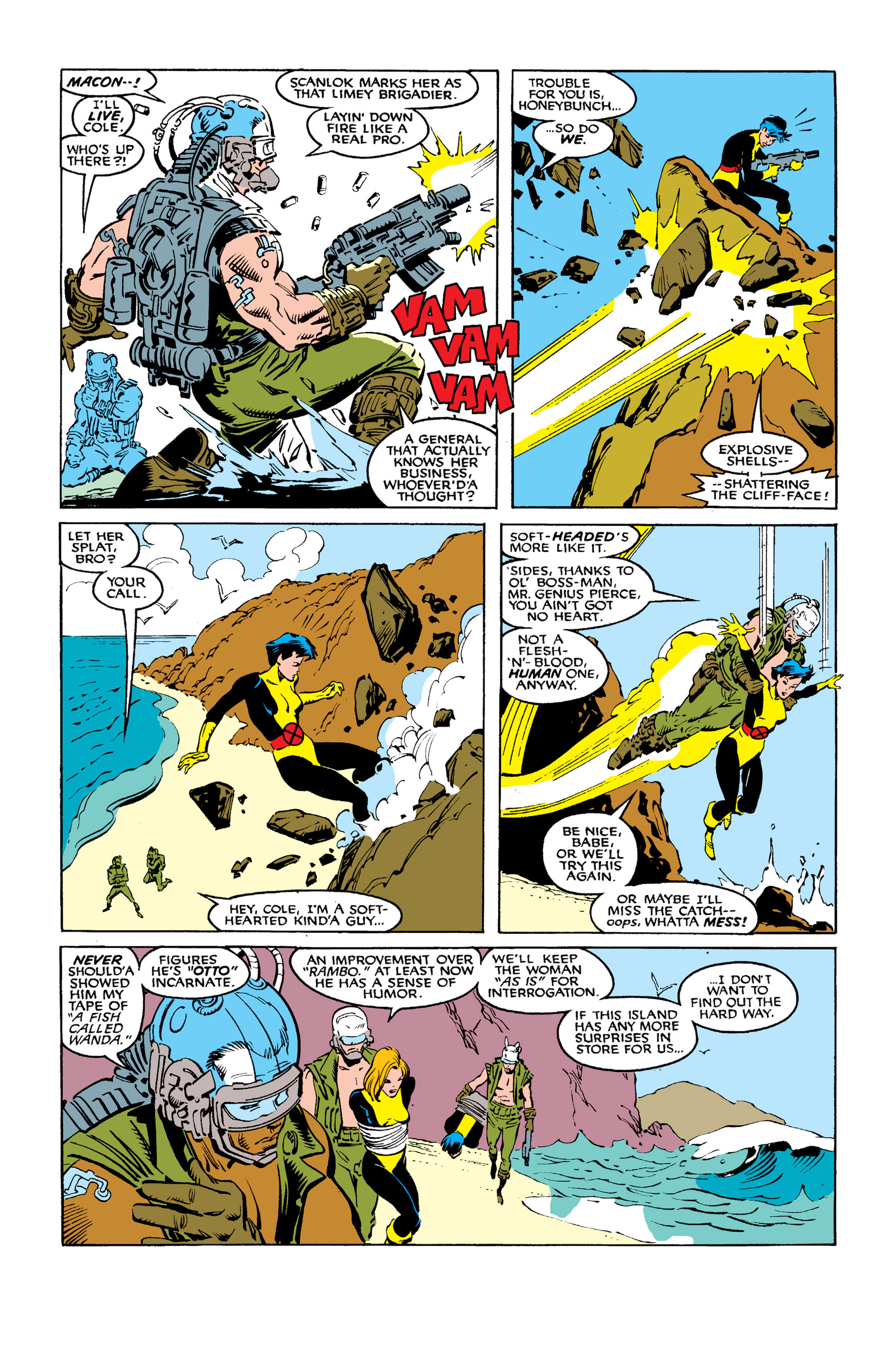 Read online Uncanny X-Men (1963) comic -  Issue #254 - 22