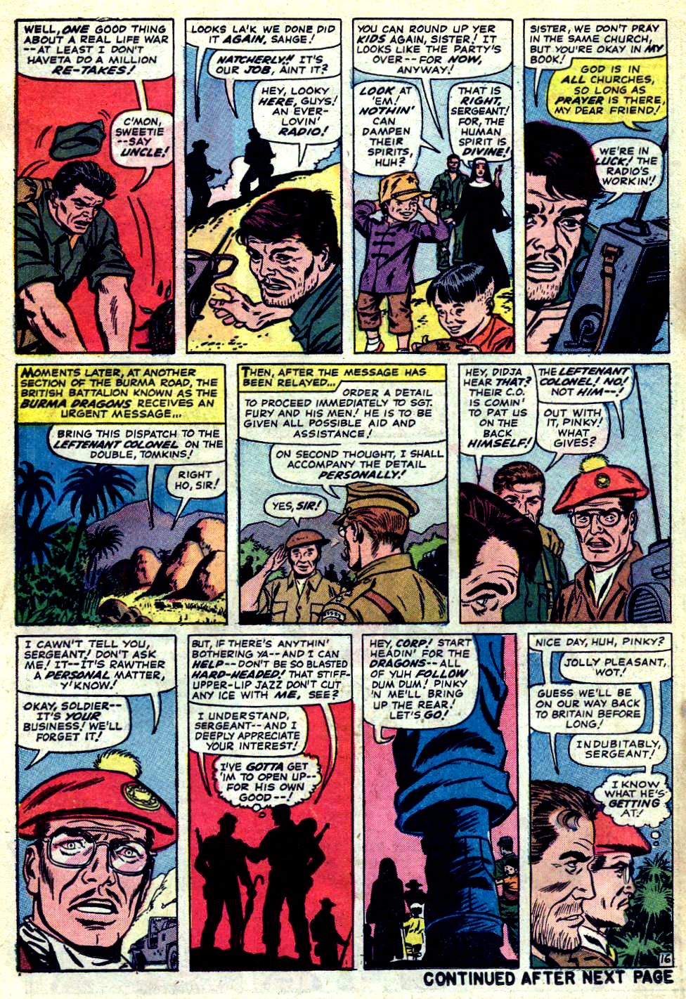 Read online Sgt. Fury comic -  Issue #23 - 22