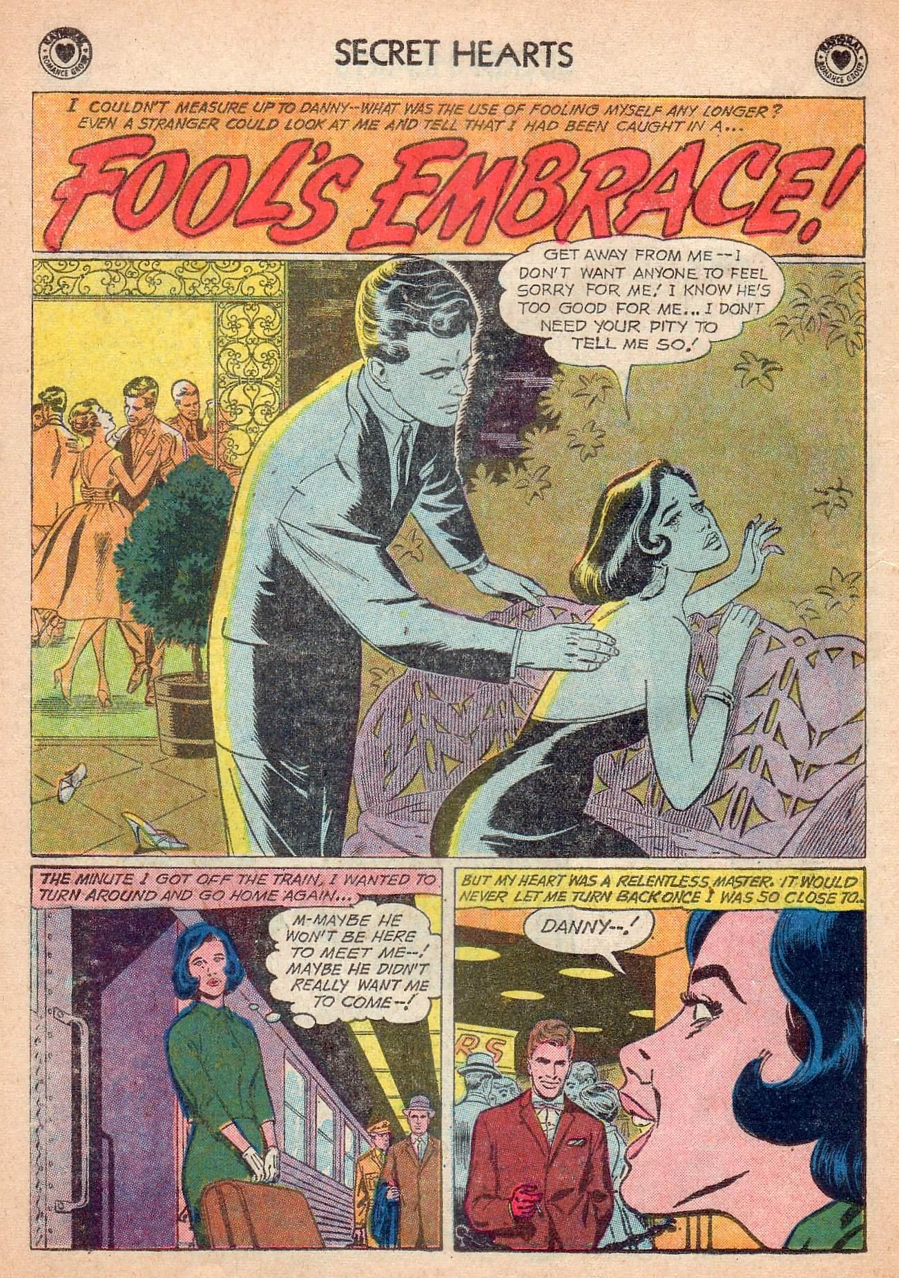 Read online Secret Hearts comic -  Issue #63 - 18