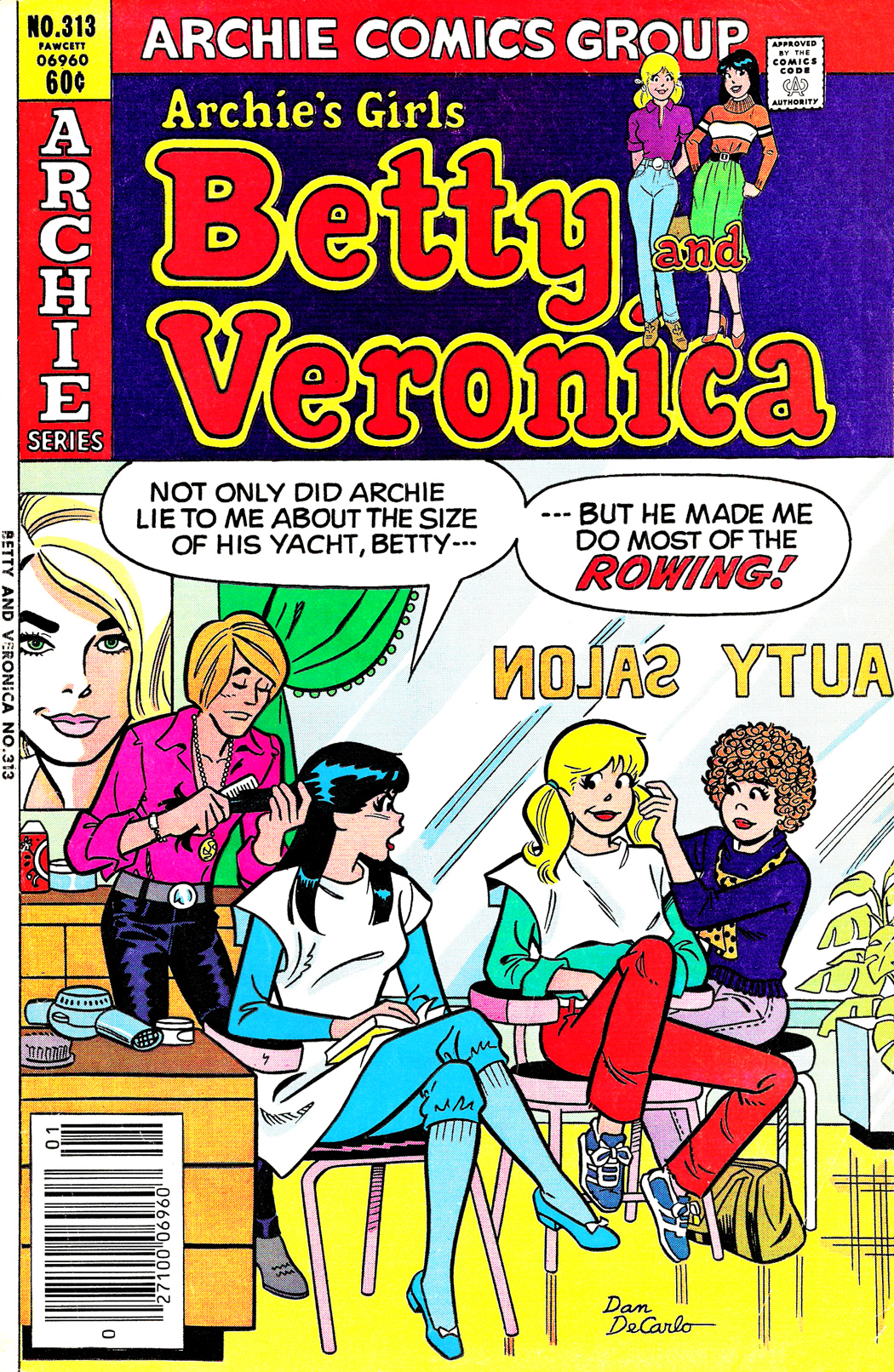 Read online Archie's Girls Betty and Veronica comic -  Issue #313 - 1