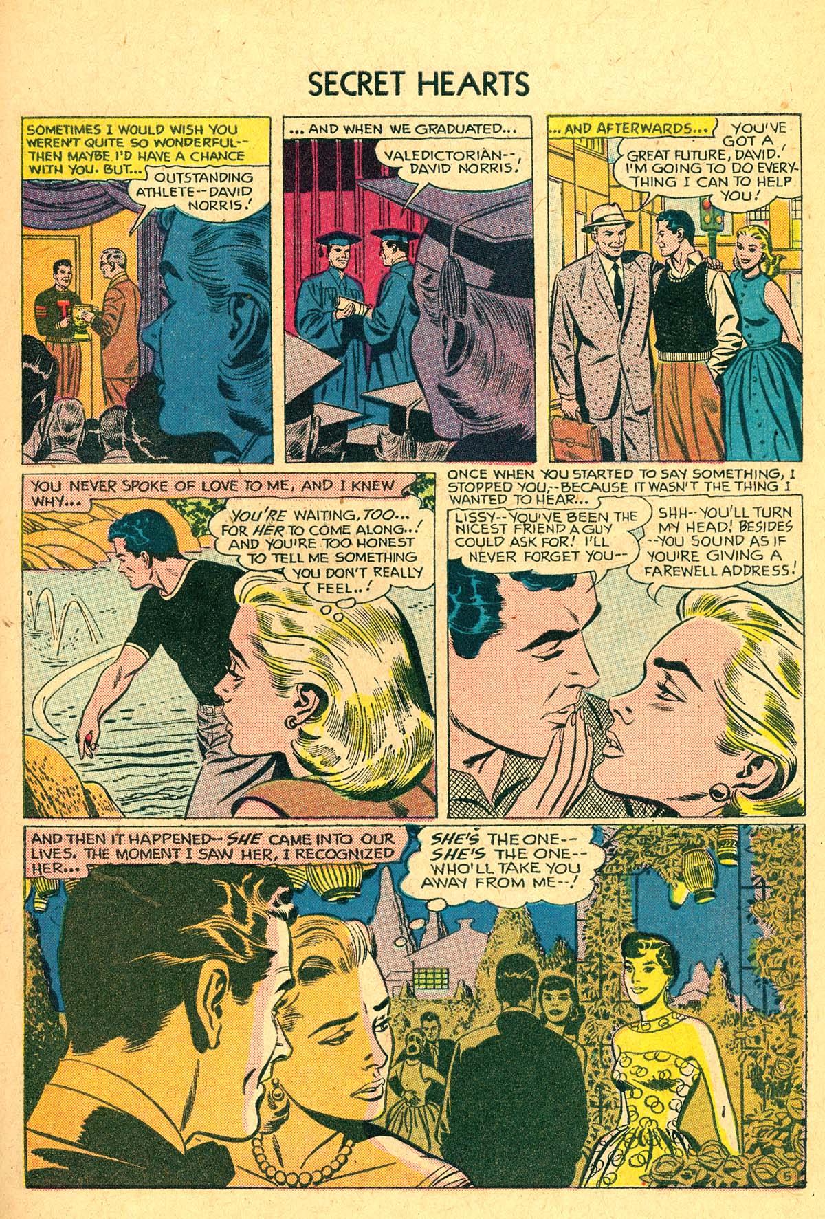 Read online Secret Hearts comic -  Issue #40 - 7