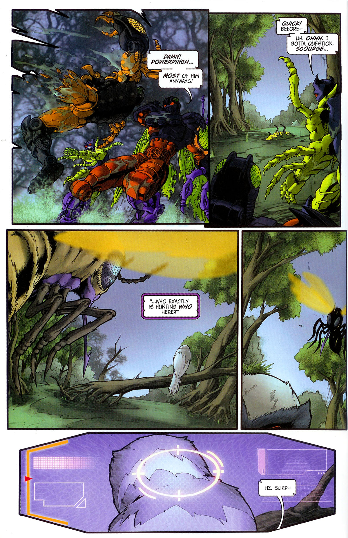 Read online Transformers, Beast Wars: The Gathering comic -  Issue #3 - 11