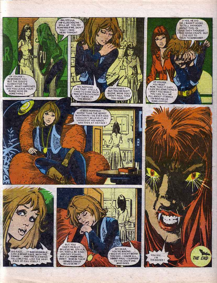 Read online Misty comic -  Issue #70 - 17