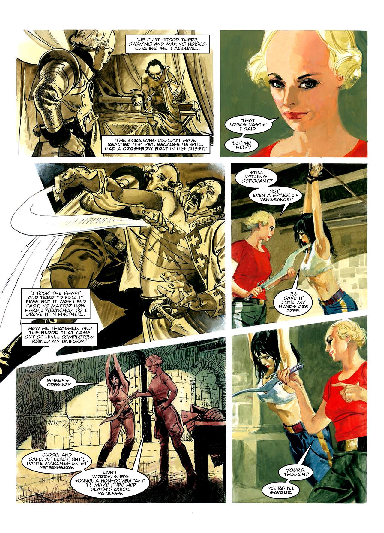 Read online Nikolai Dante comic -  Issue # TPB 10 - 51