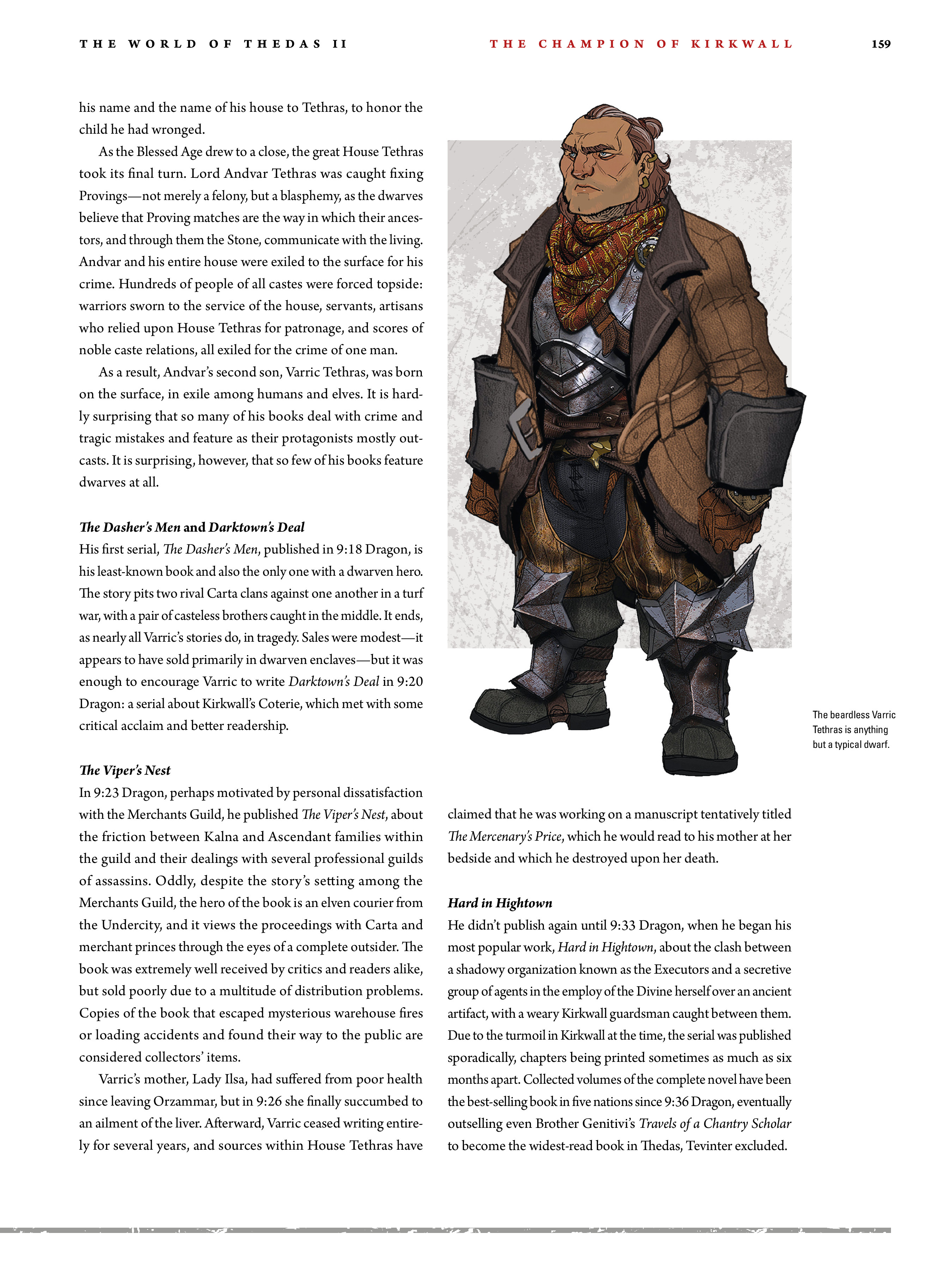 Read online Dragon Age: The World of Thedas comic -  Issue # TPB 2 - 155