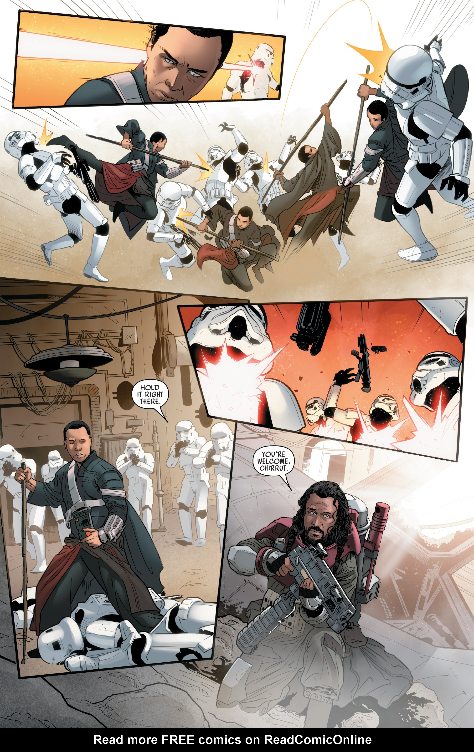Read online Star Wars: Rogue One Adaptation comic -  Issue #2 - 13