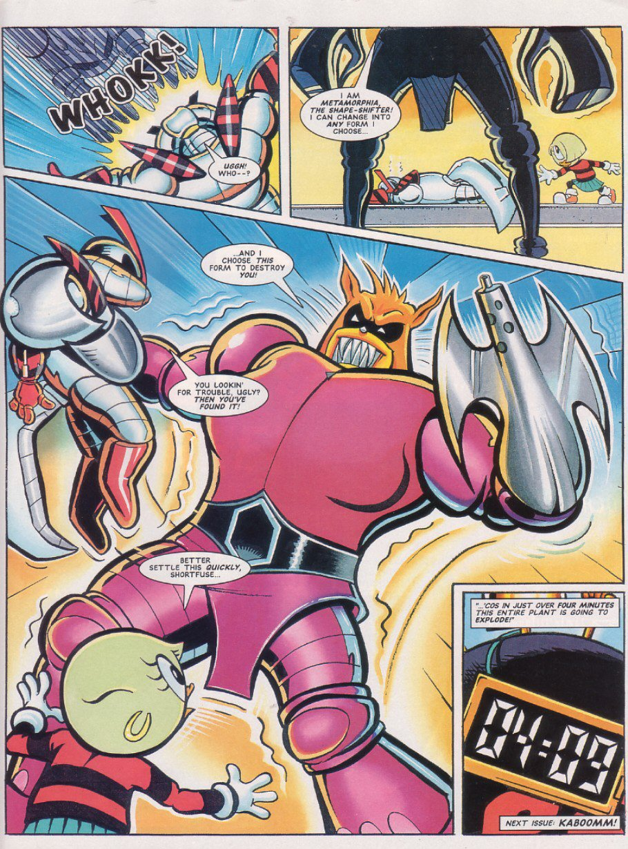 Read online Sonic the Comic comic -  Issue #64 - 28
