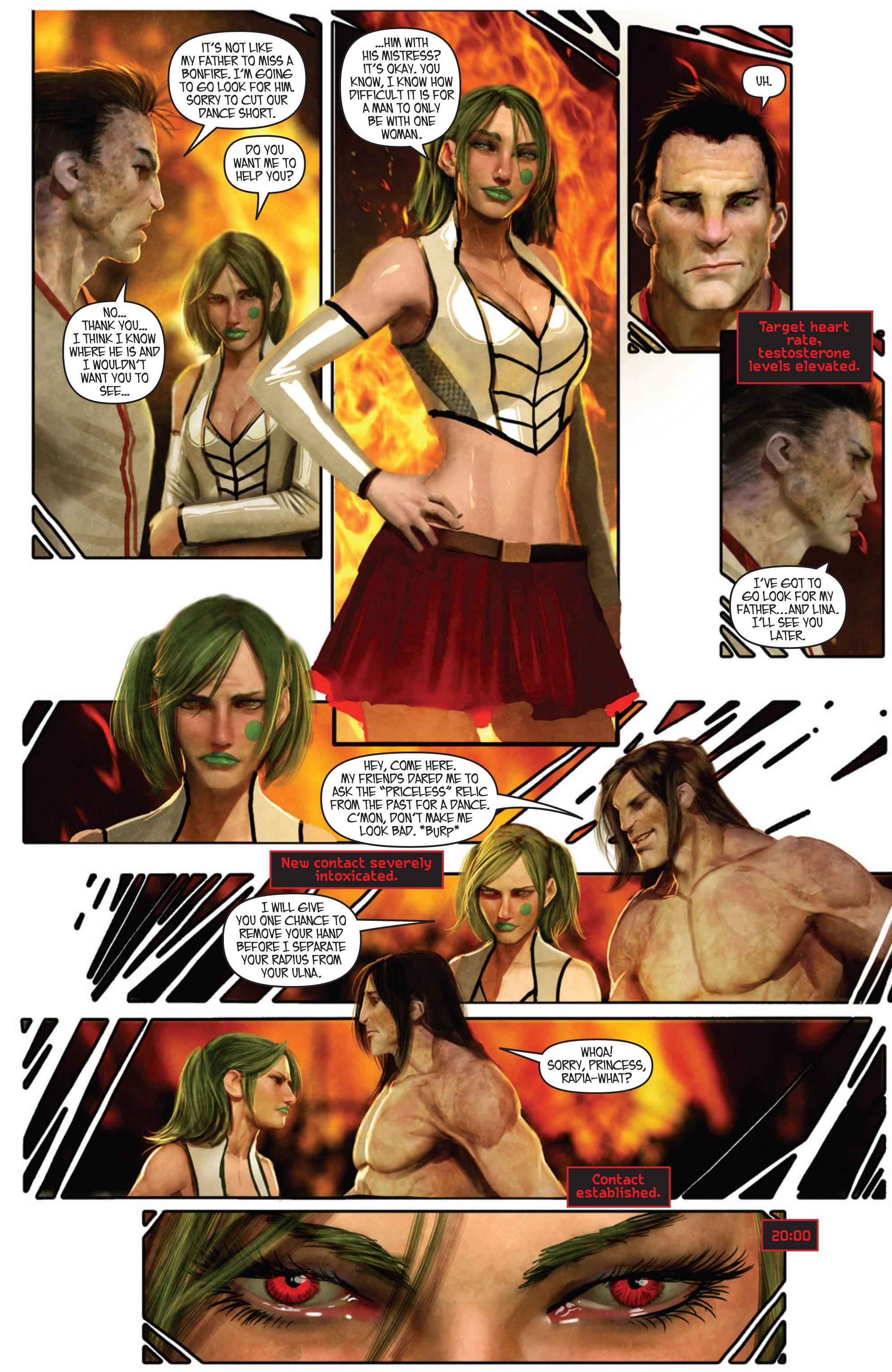Read online Aphrodite IX (2013) comic -  Issue #Aphrodite IX (2013) _TPB 1 - 41