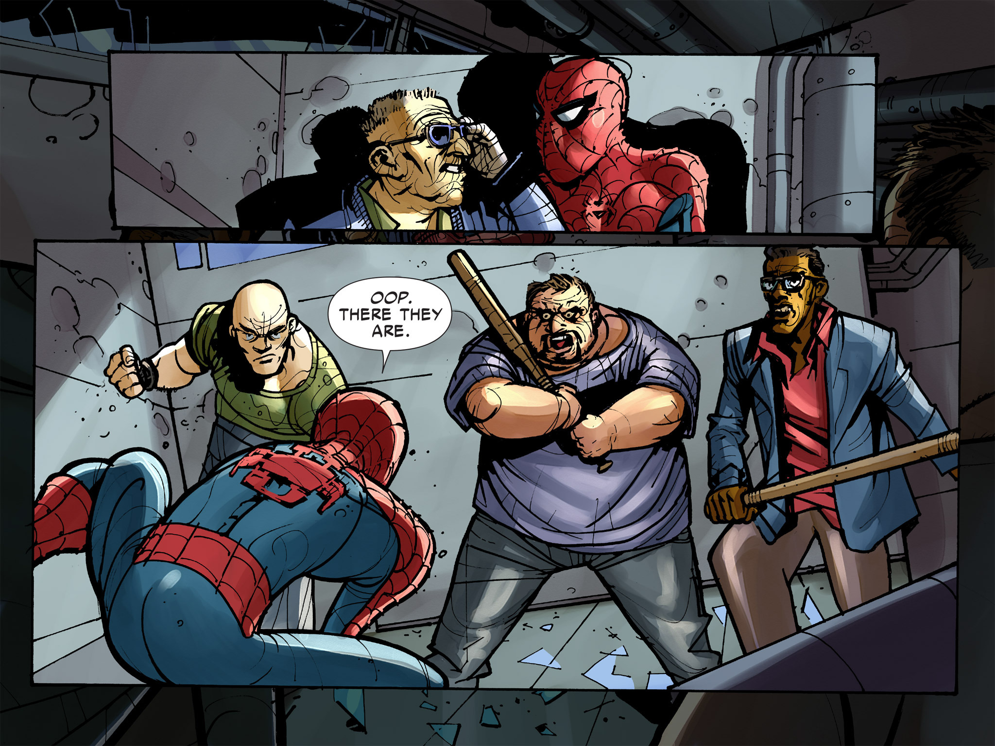 Read online Amazing Spider-Man: Who Am I? comic -  Issue # Full (Part 2) - 126