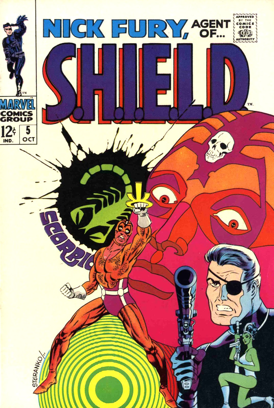 Nick Fury, Agent of SHIELD 5 Page 1