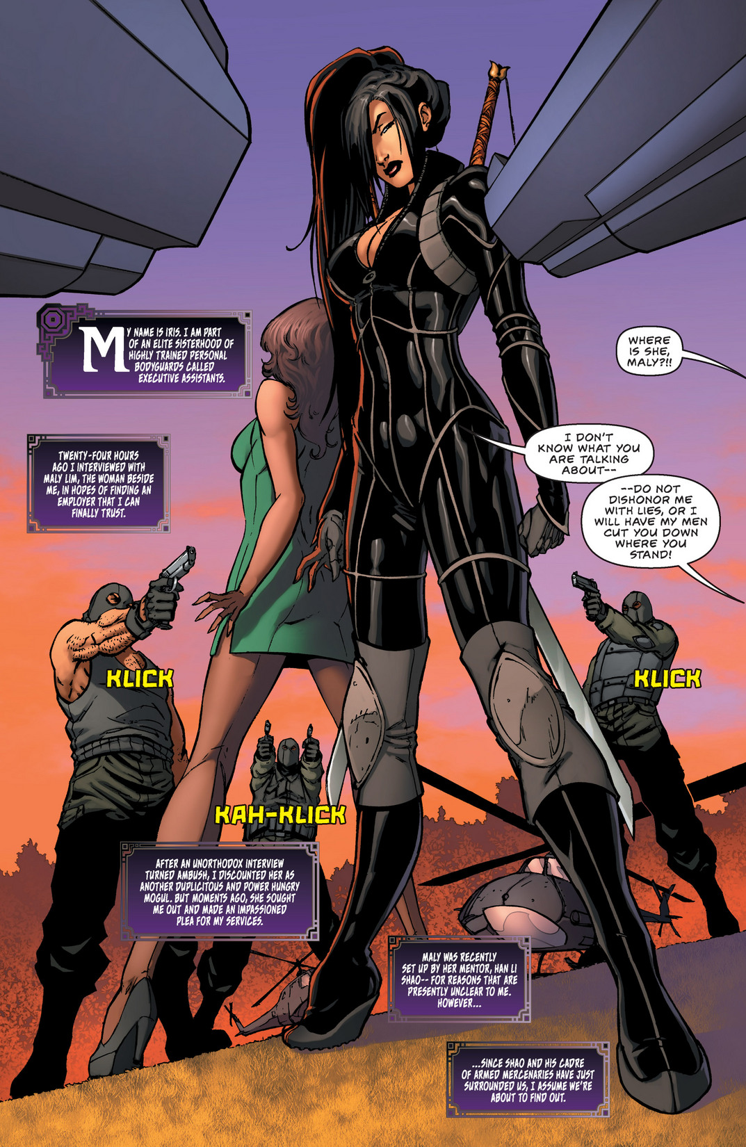 Read online All New Executive Assistant: Iris comic -  Issue #2 - 4
