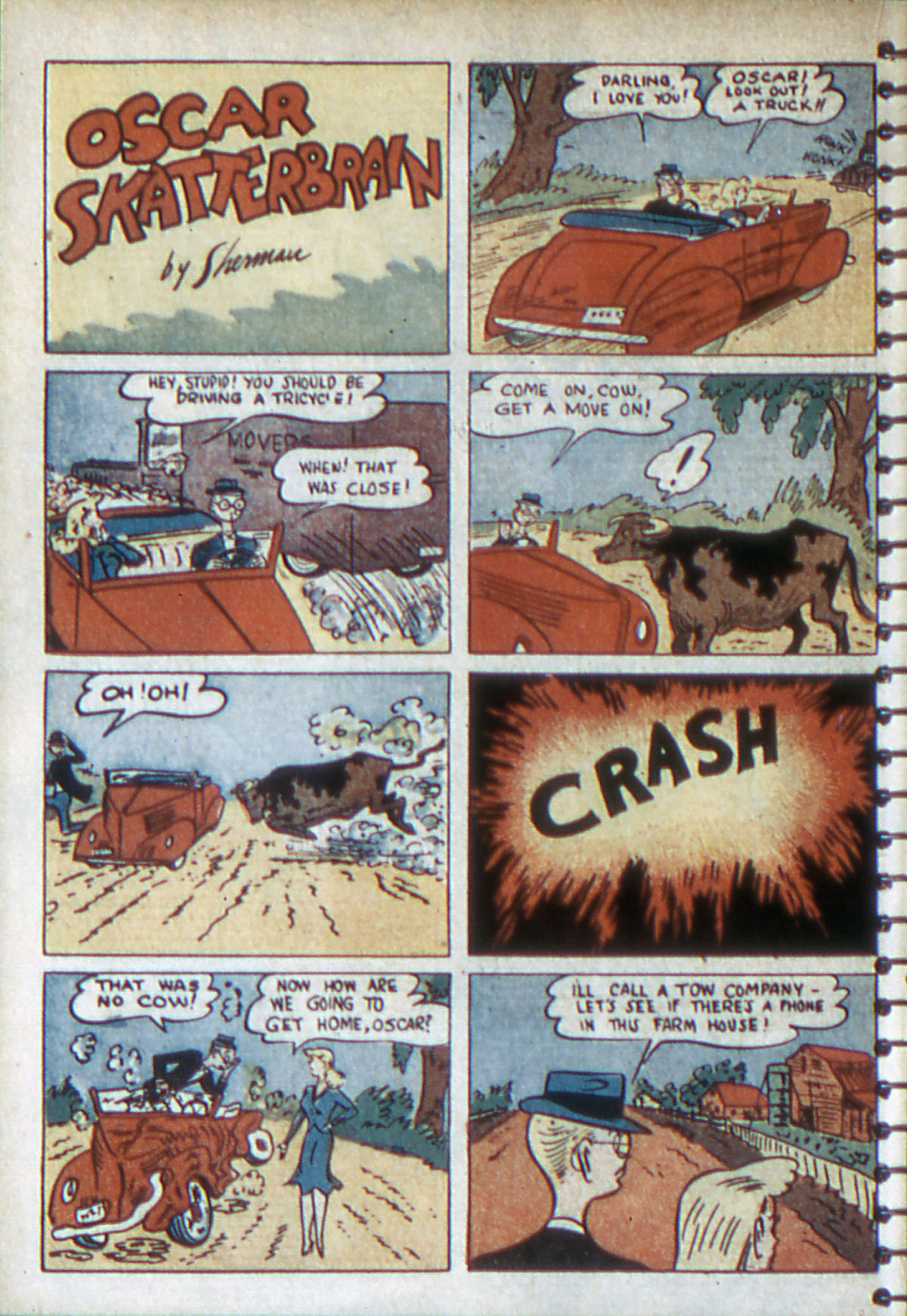 Read online Adventure Comics (1938) comic -  Issue #54 - 19