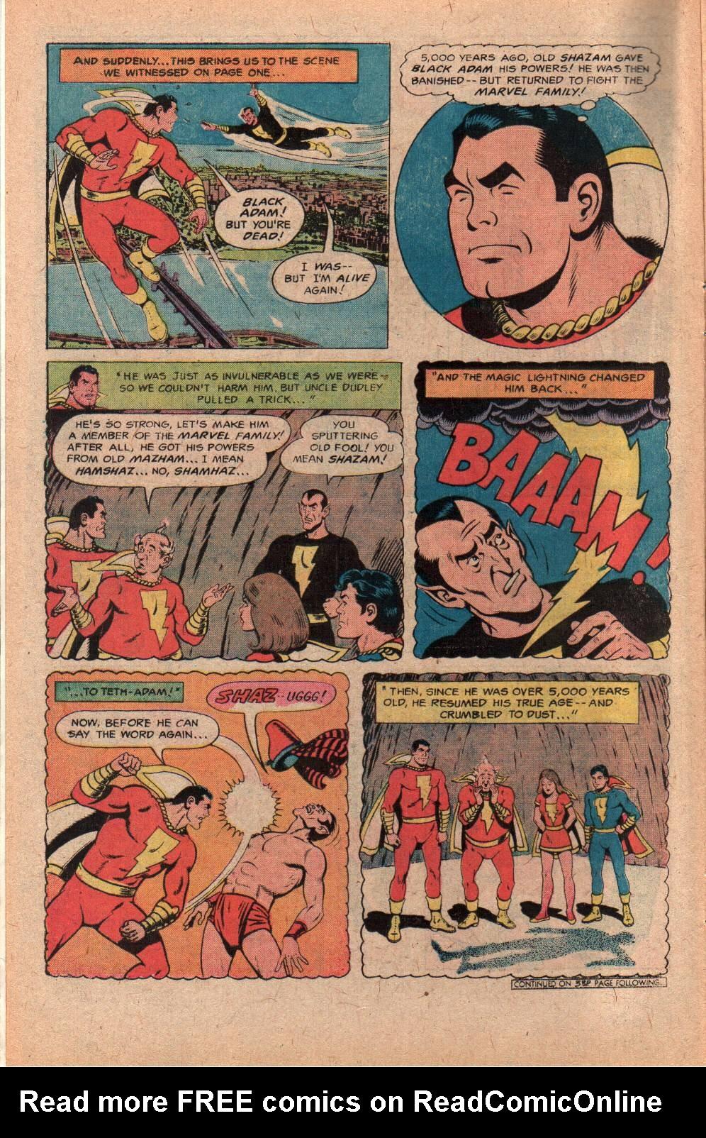 Read online Shazam! (1973) comic -  Issue #28 - 6