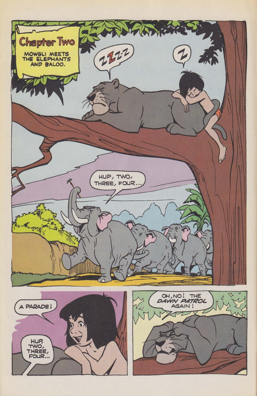 Read online The Jungle Book comic -  Issue # Full - 16
