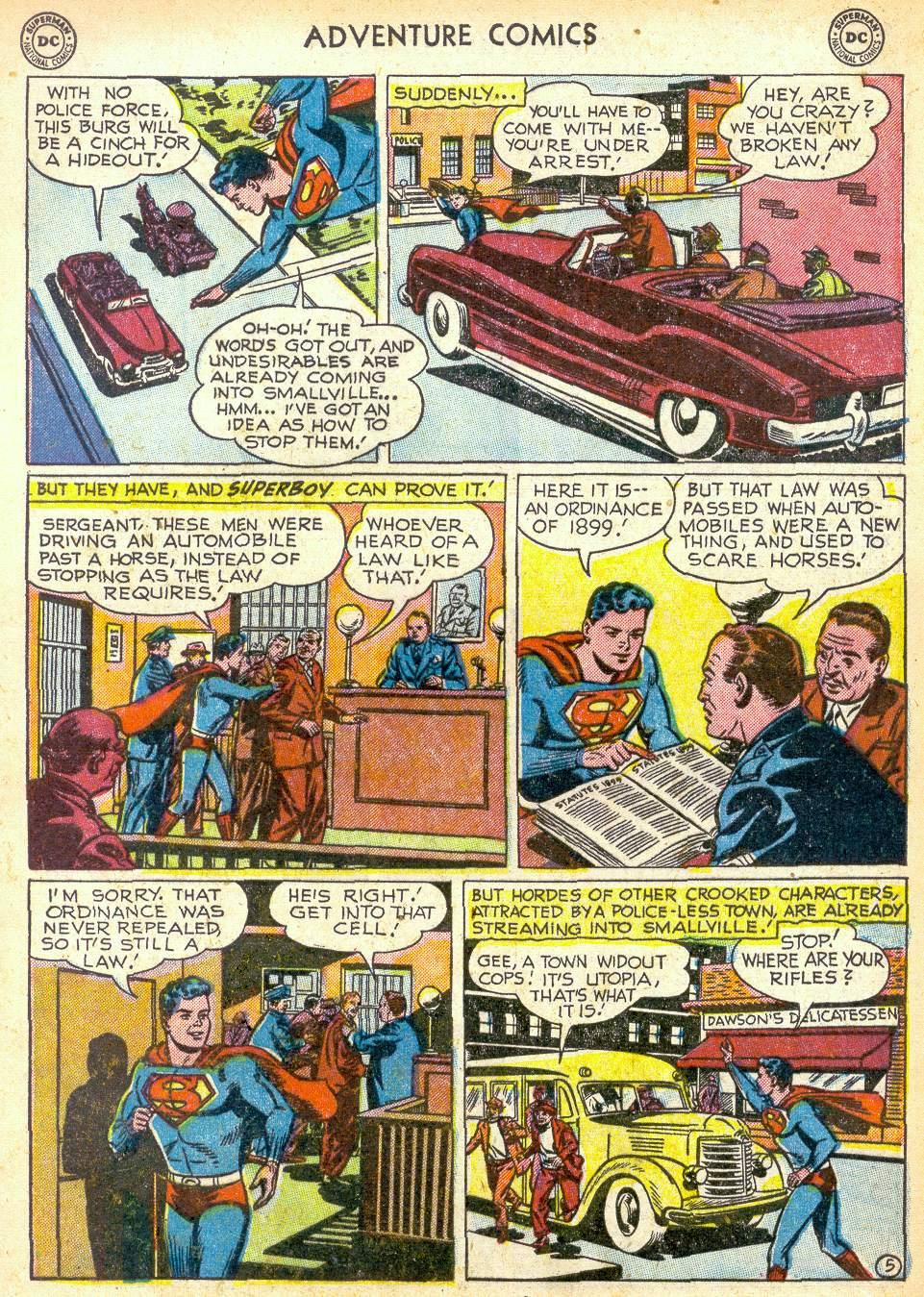 Read online Adventure Comics (1938) comic -  Issue #172 - 7