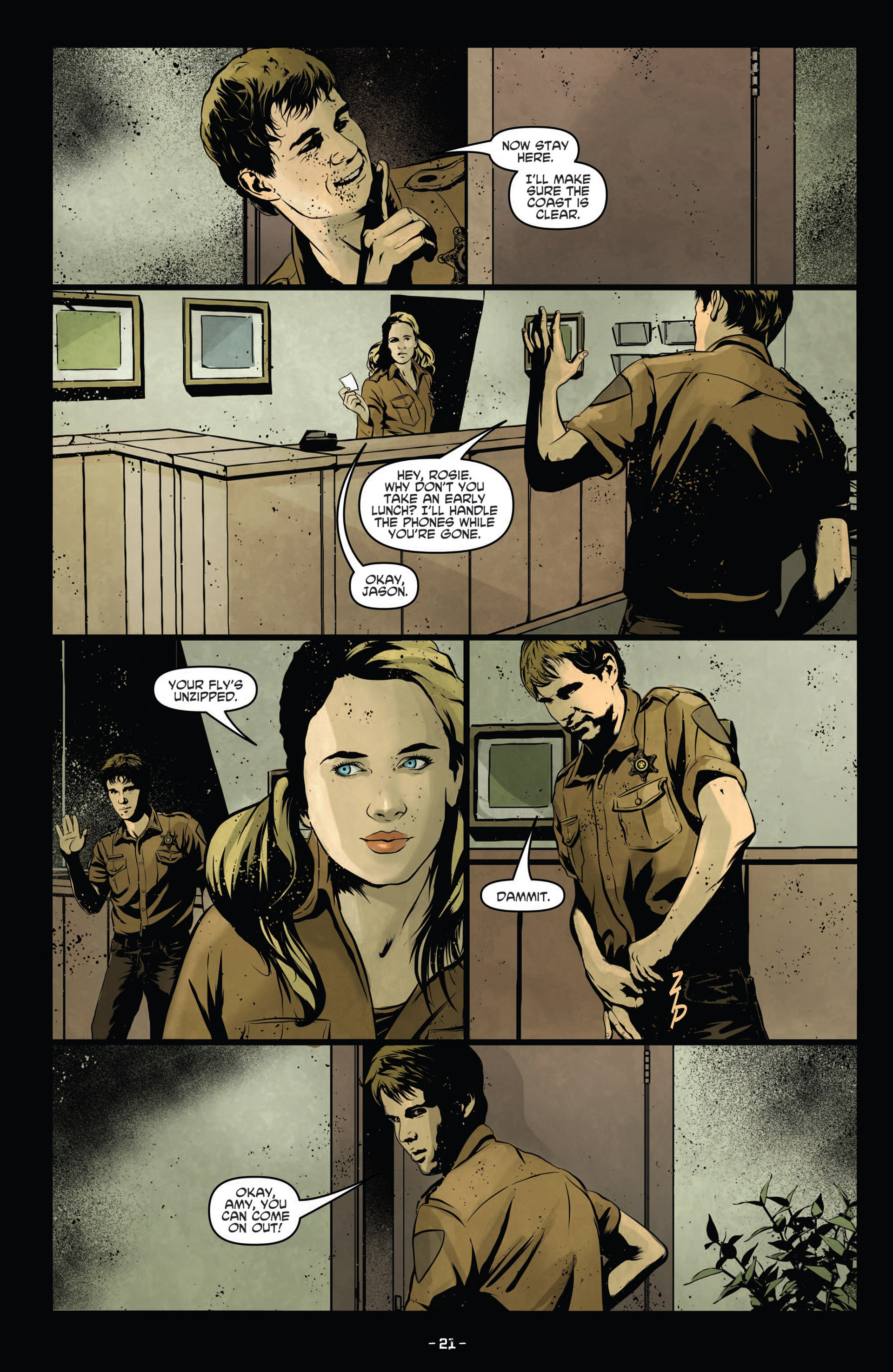 Read online True Blood (2012) comic -  Issue #12 - 23