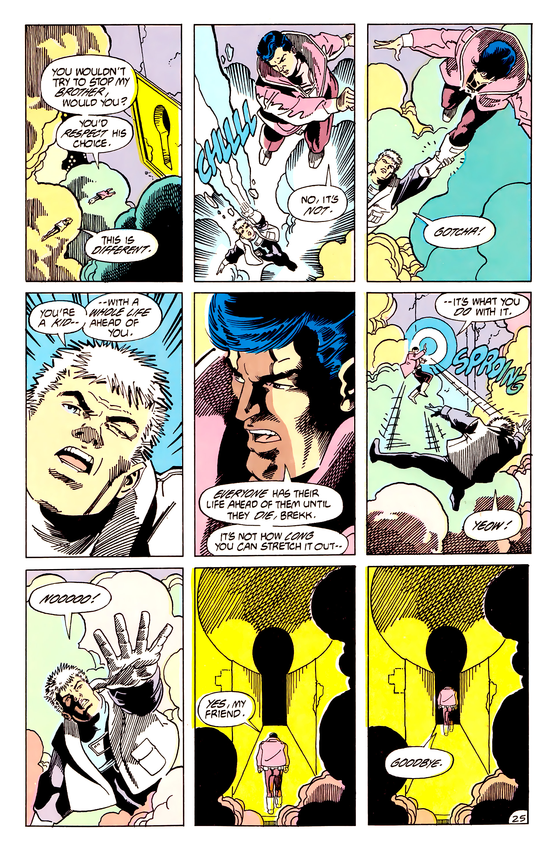 Legion of Super-Heroes (1984) 62 Page 25