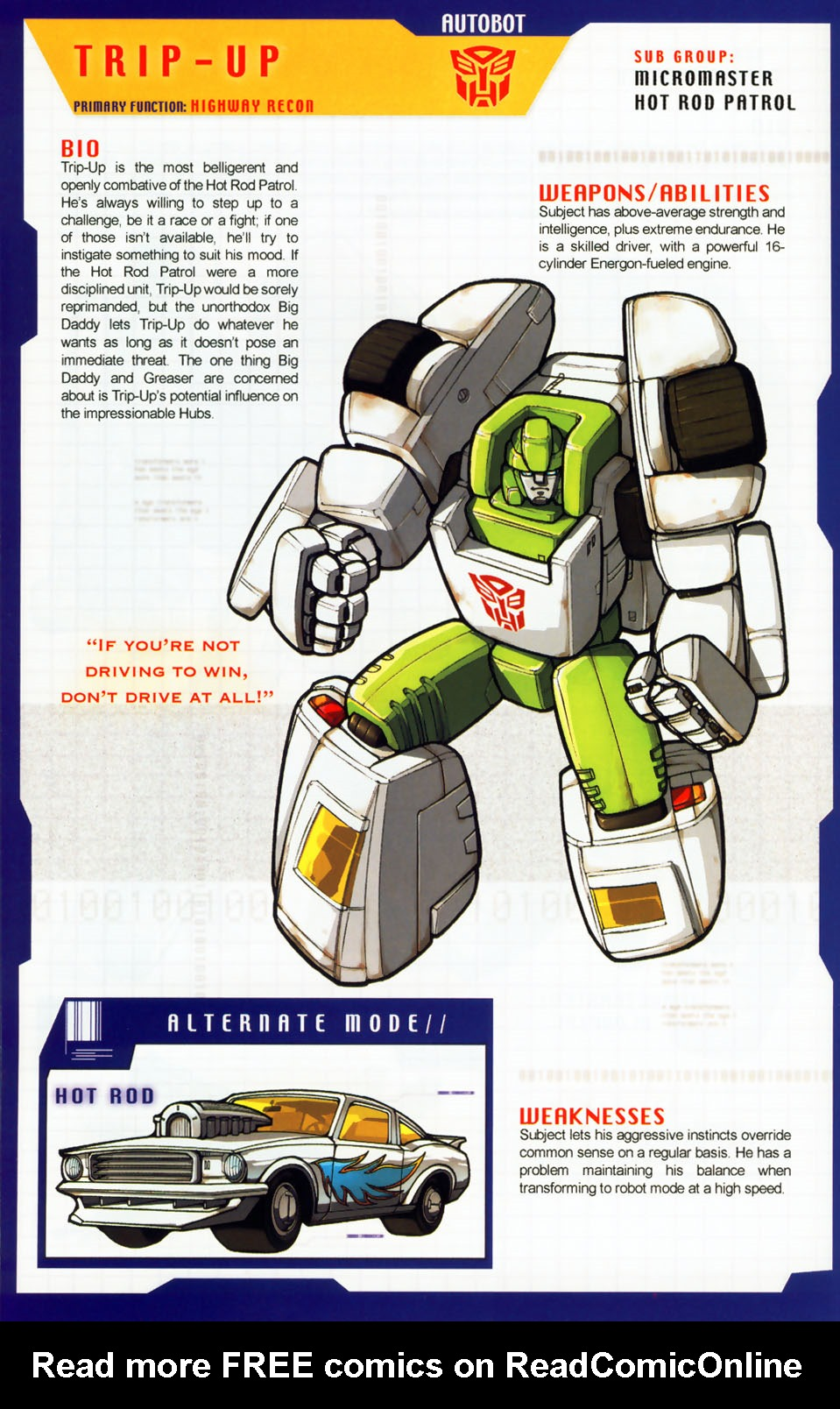 Read online Transformers: More than Meets the Eye comic -  Issue #7 - 30