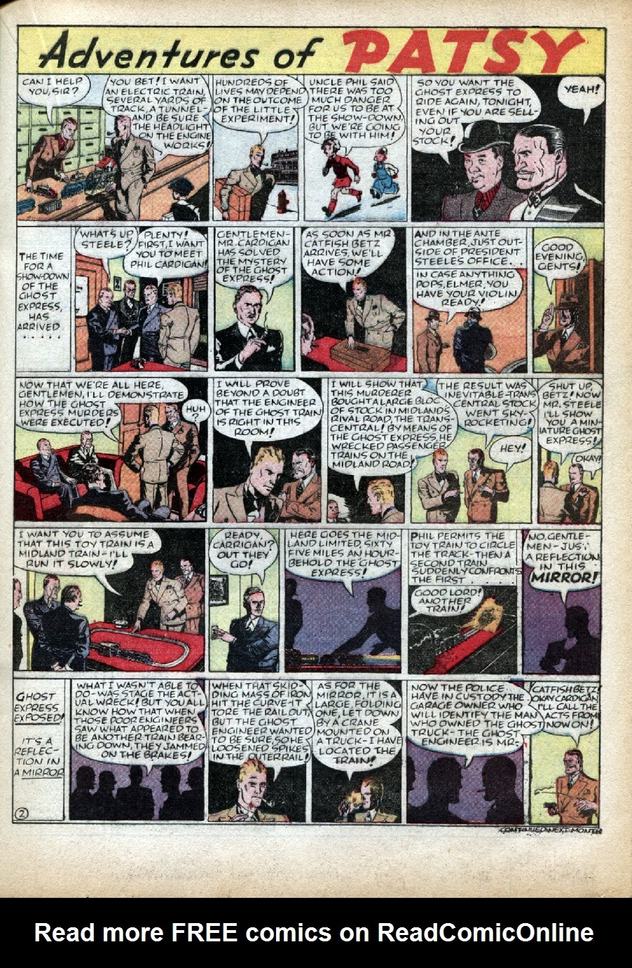 Read online Famous Funnies comic -  Issue #46 - 31