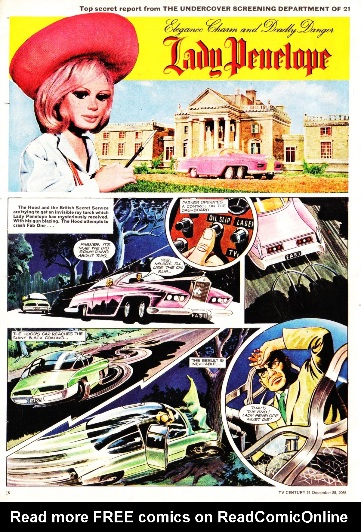 Read online TV Century 21 (TV 21) comic -  Issue #49 - 15