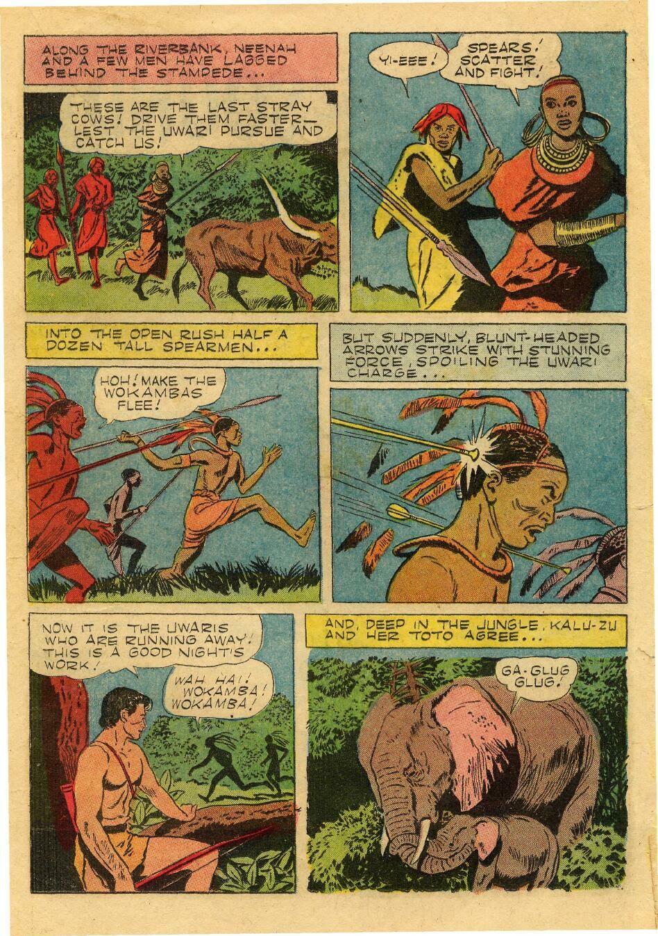 Tarzan (1948) issue 76 - Page 17