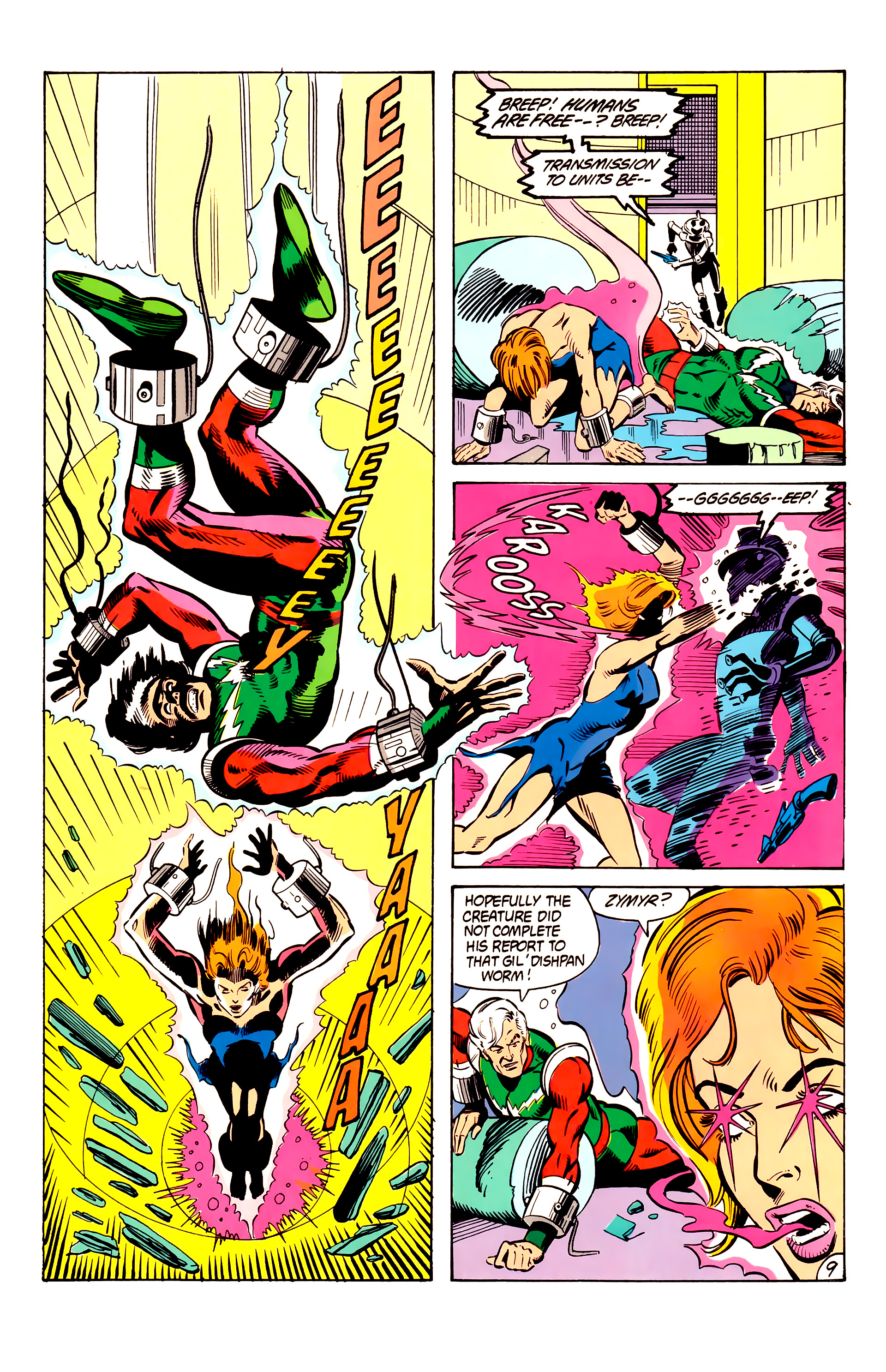 Legion of Super-Heroes (1984) 6 Page 9