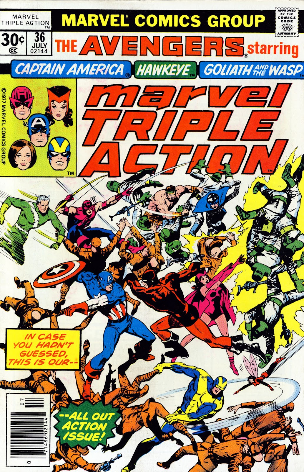 Marvel Triple Action (1972) issue 36 - Page 1