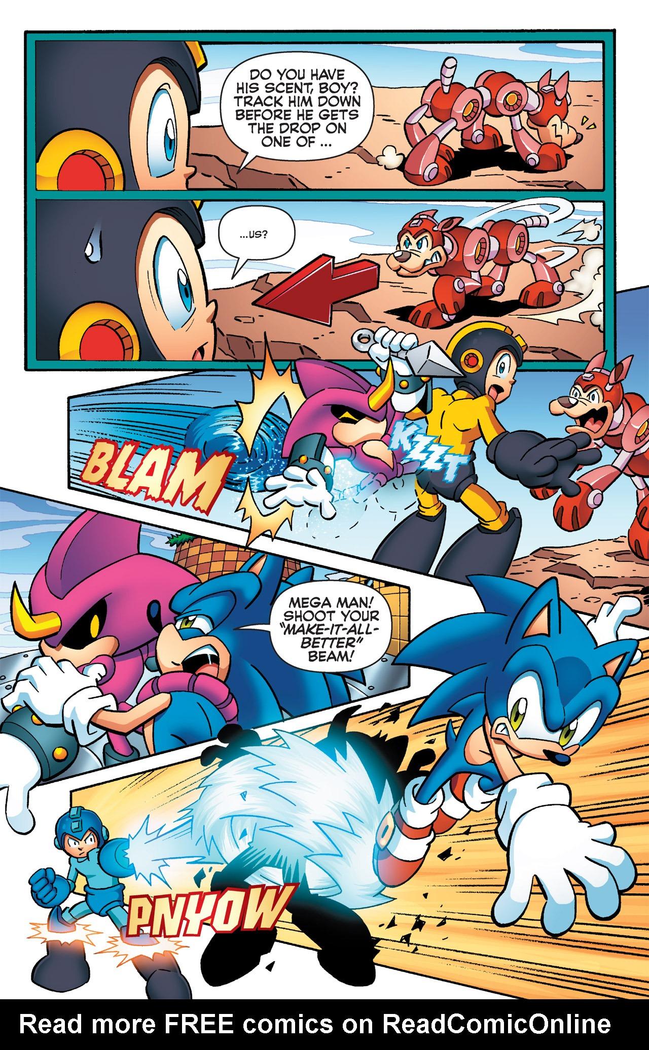 Read online Sonic Mega Man Worlds Collide comic -  Issue # Vol 2 - 48