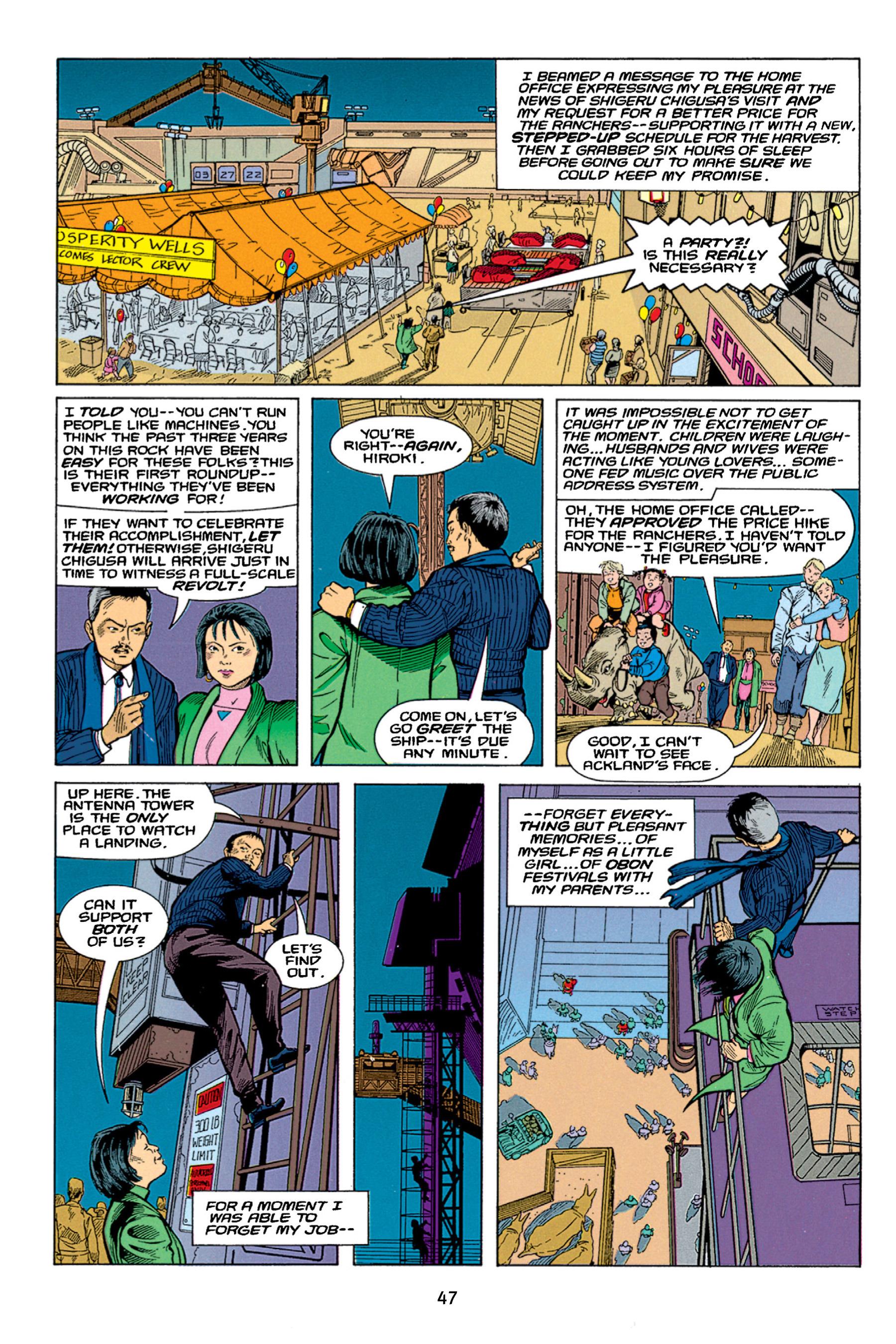 Read online Aliens vs. Predator Omnibus comic -  Issue # _TPB 1 Part 1 - 47