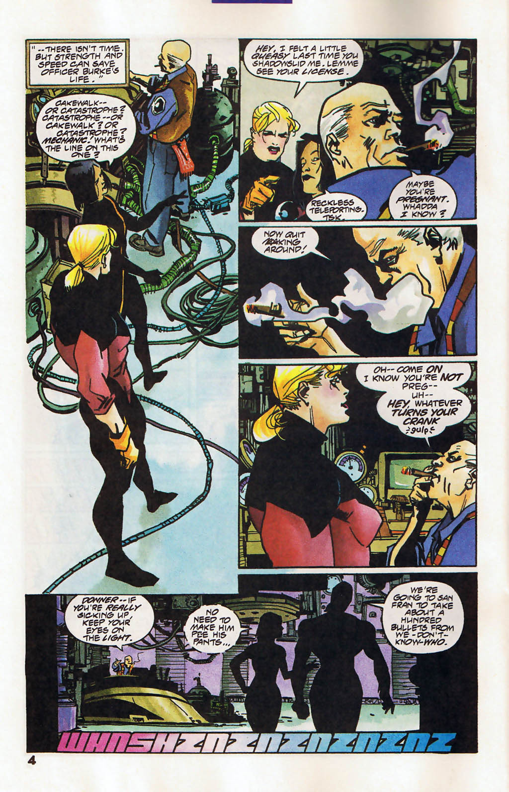 Read online Shadow Cabinet comic -  Issue #11 - 5