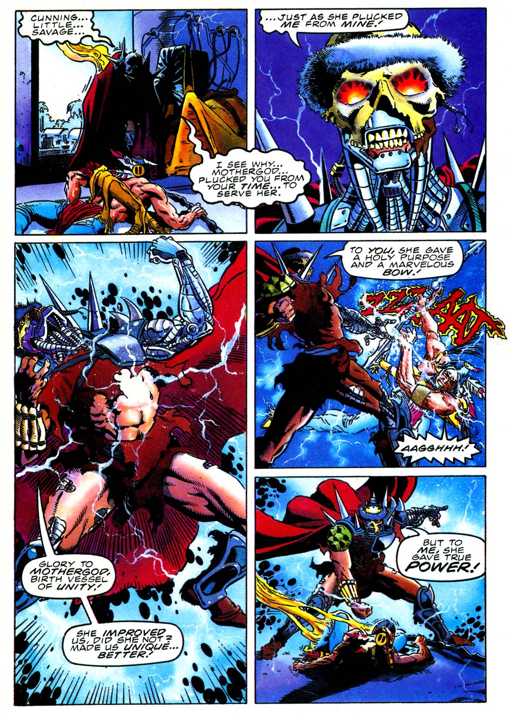 Read online Turok, Dinosaur Hunter (1993) comic -  Issue #27 - 17