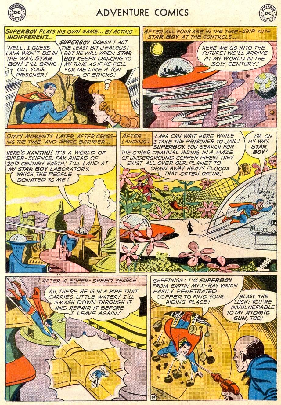 Read online Adventure Comics (1938) comic -  Issue #282 - 10