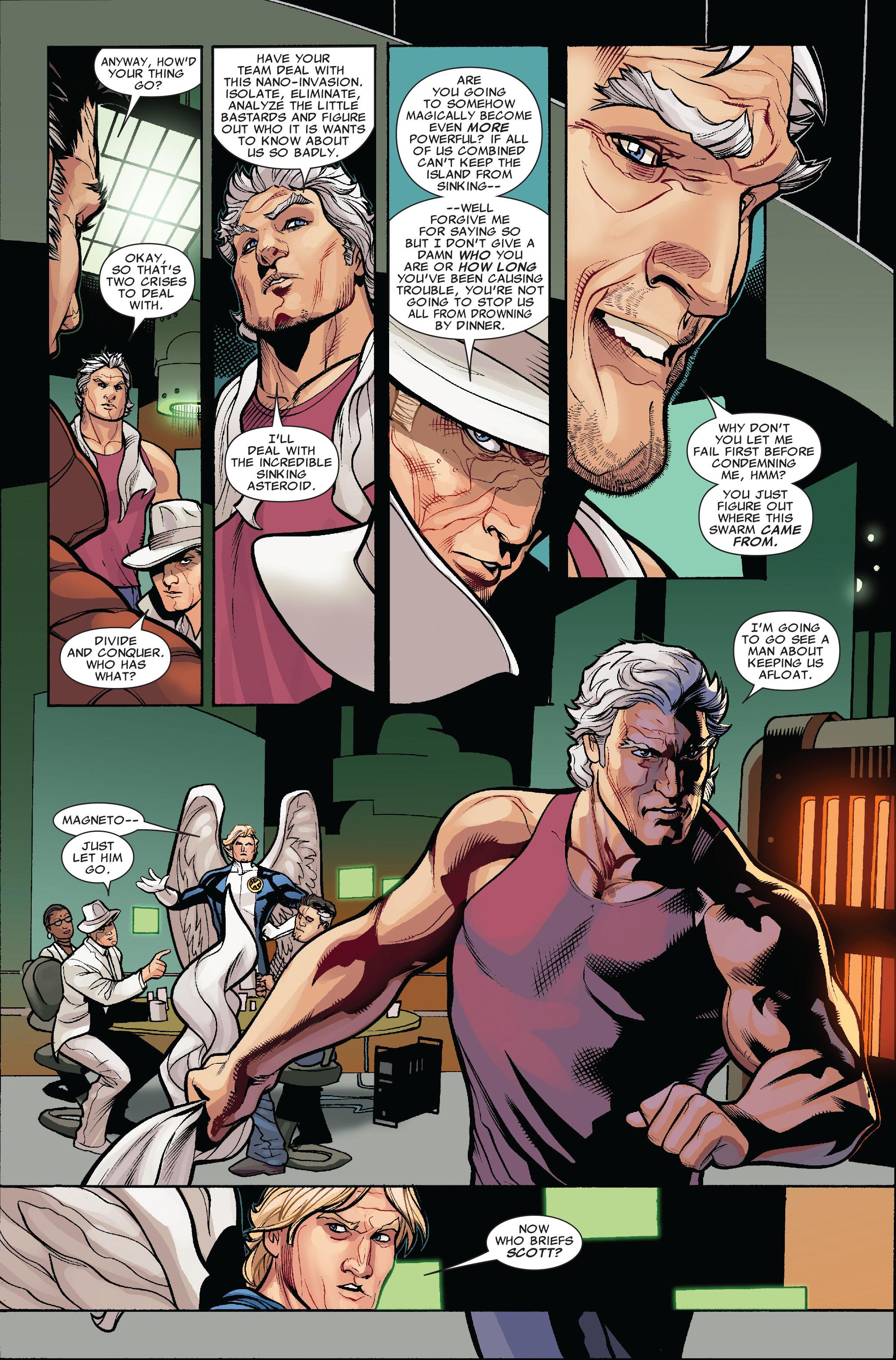 Read online Uncanny X-Men (1963) comic -  Issue #519 - 9