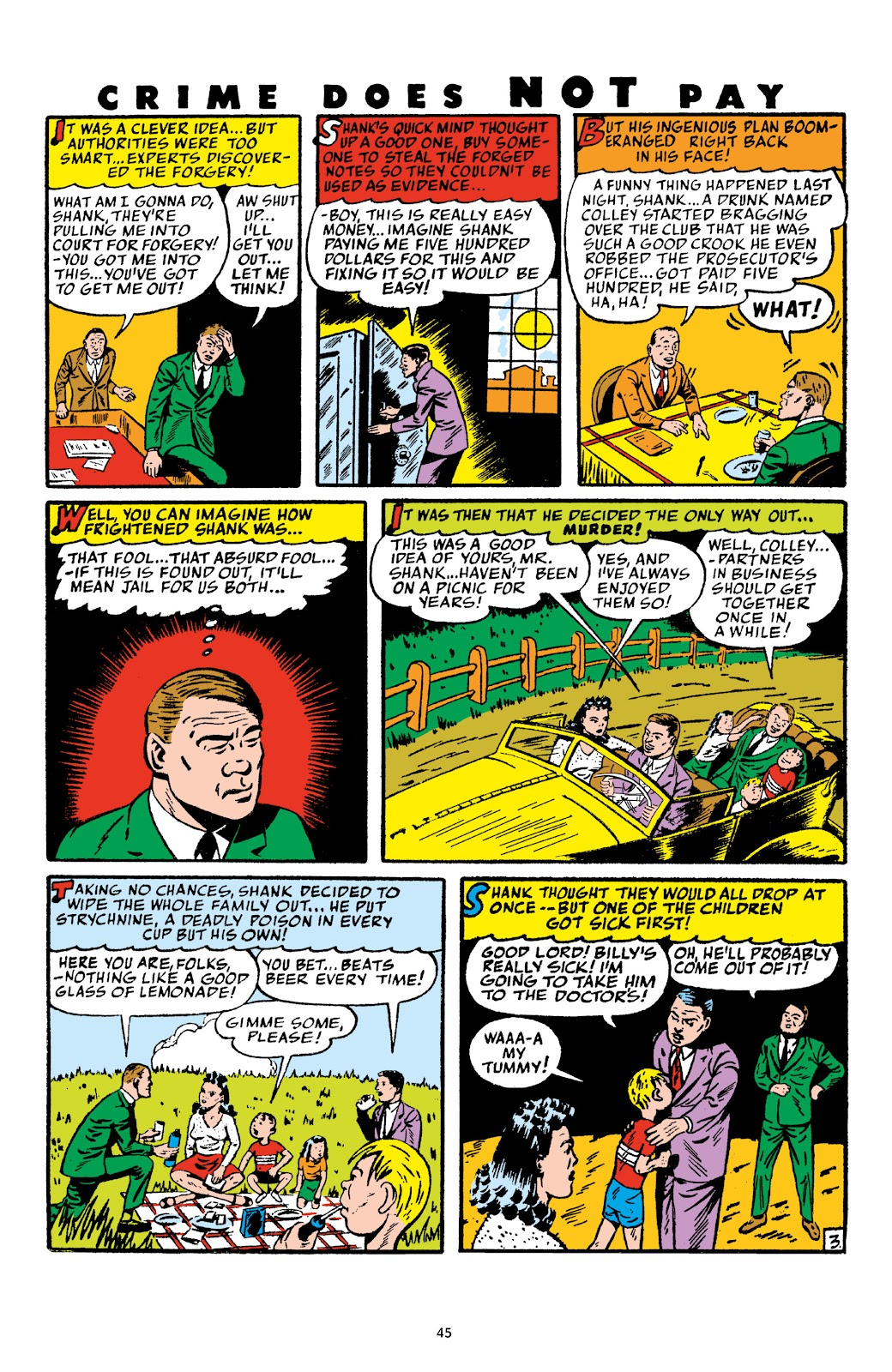 Read online Crime Does Not Pay Archives comic -  Issue # TPB 4 (Part 1) - 45