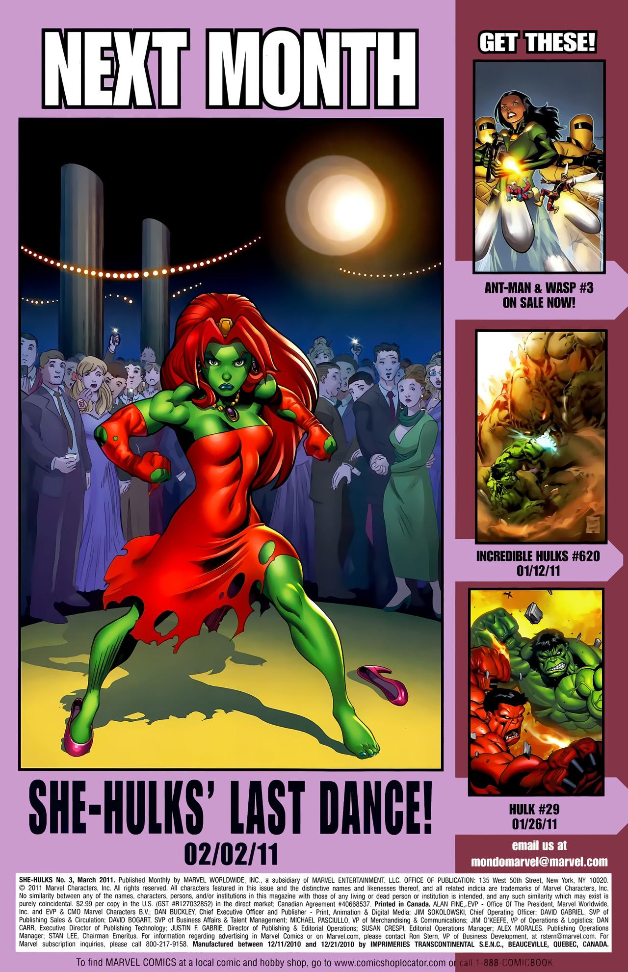 Read online She-Hulks comic -  Issue #3 - 25