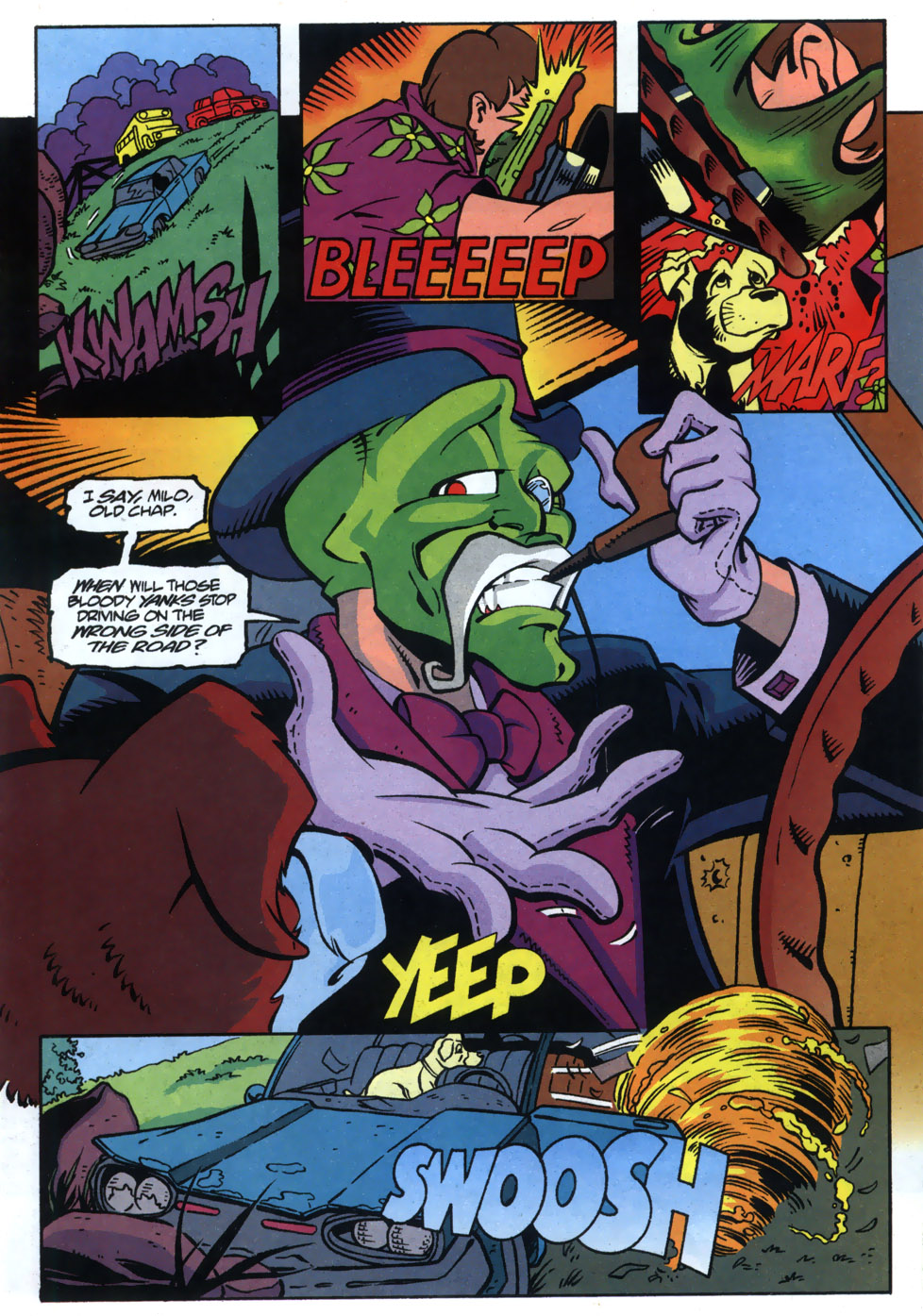 Read online Adventures Of The Mask comic -  Issue #5 - 7