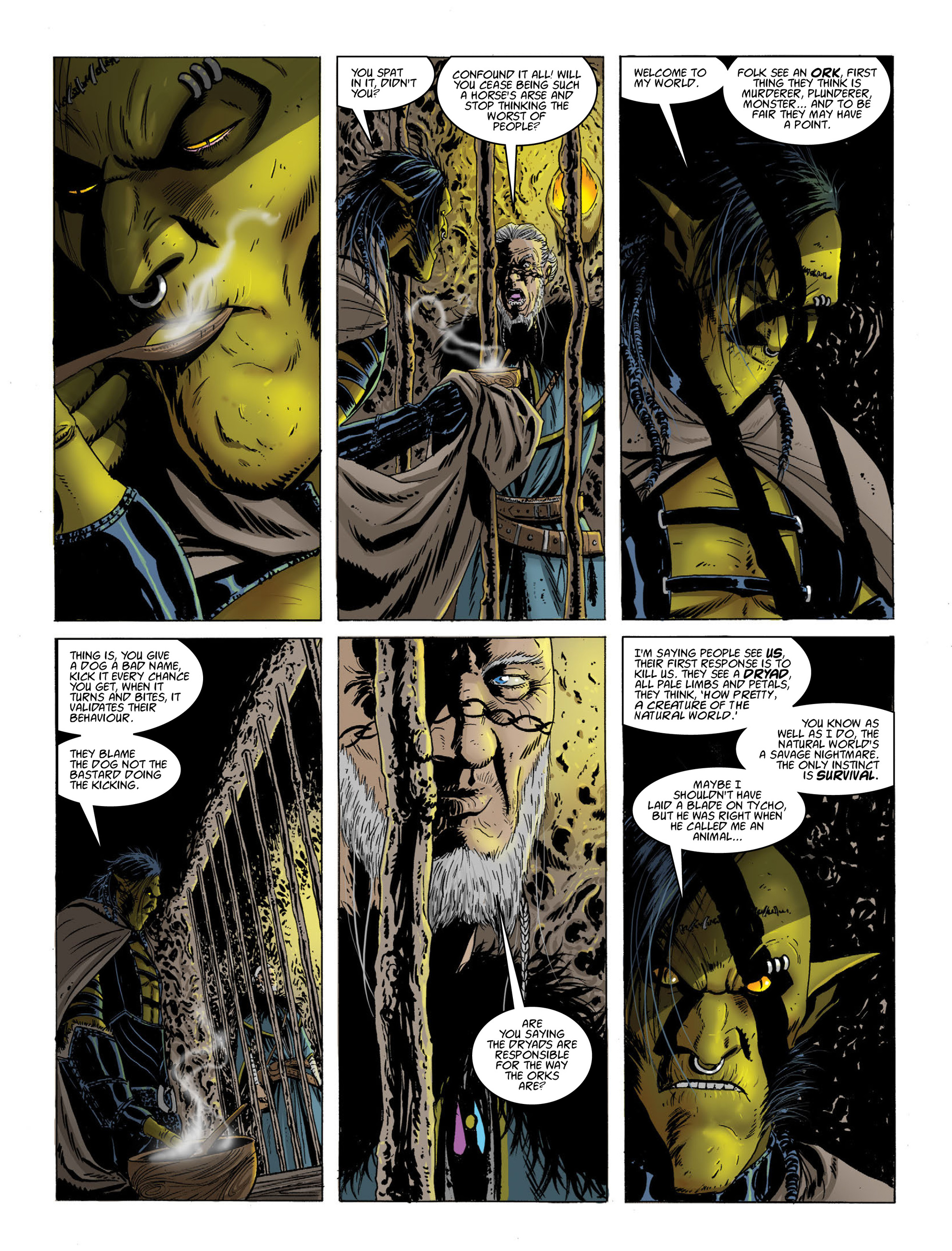 Read online 2000 AD comic -  Issue #2017 - 11