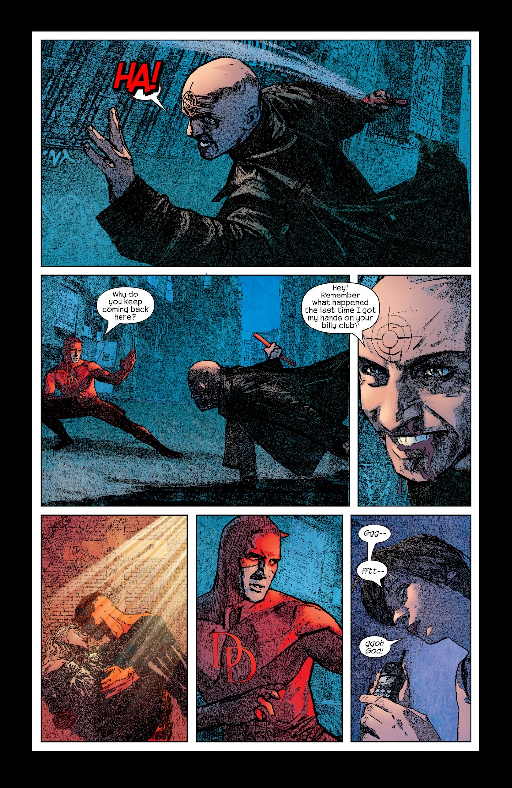 Read online Daredevil (1998) comic -  Issue # _Ultimate_Collection TPB 2 (Part 2) - 96