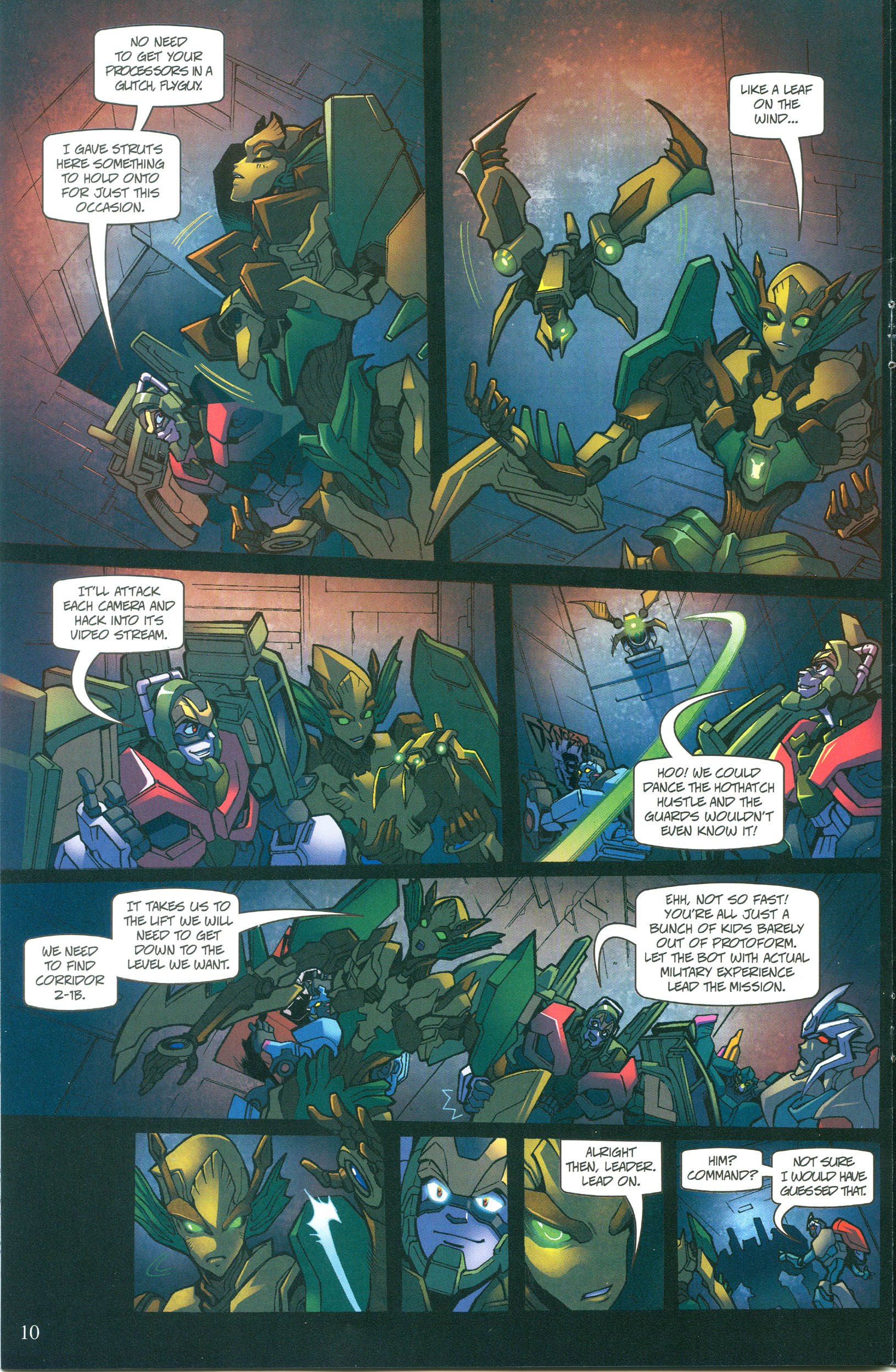 Read online Transformers: Collectors' Club comic -  Issue #55 - 10