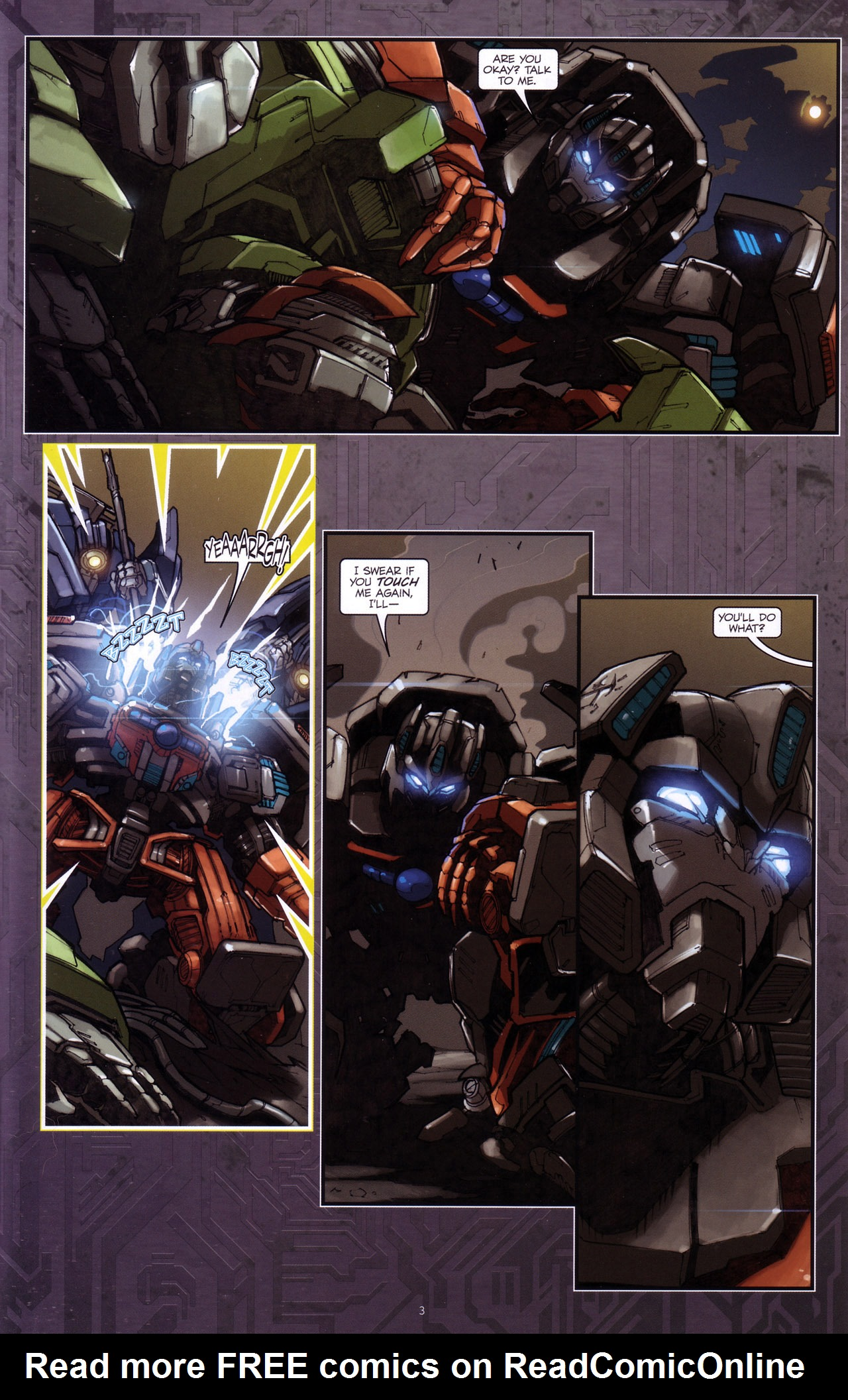 Read online Transformers: The Reign of Starscream comic -  Issue #4 - 5
