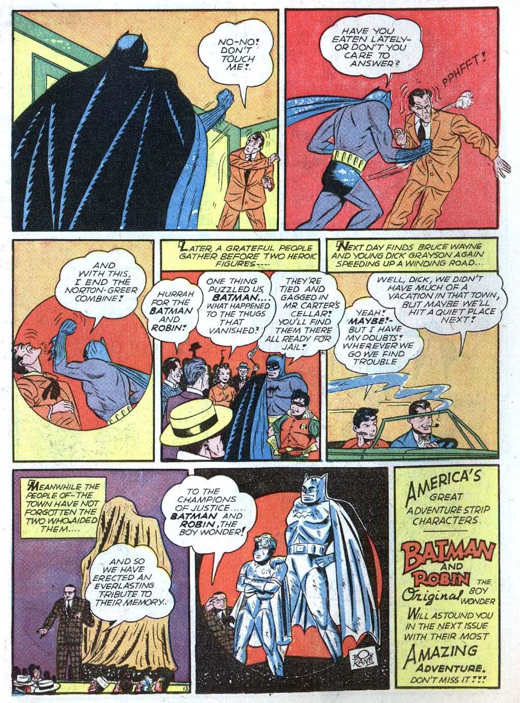 Read online Detective Comics (1937) comic -  Issue #43 - 15