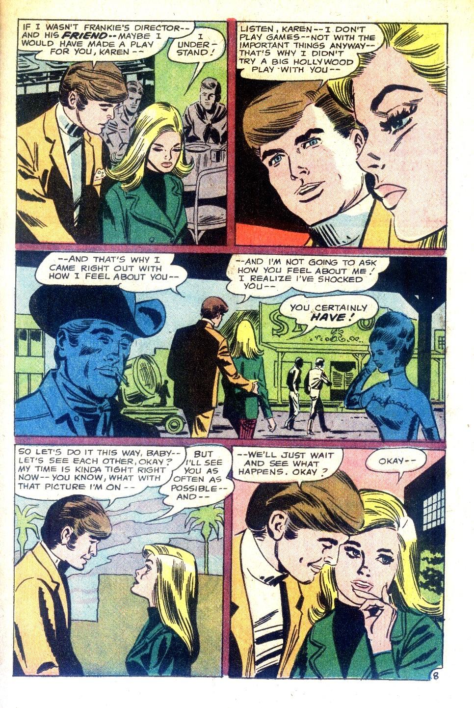 Read online Secret Hearts comic -  Issue #128 - 25