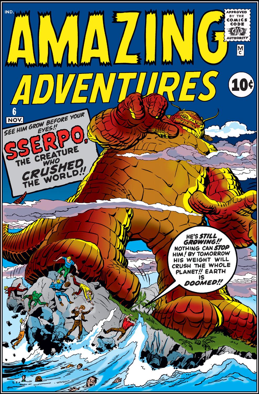 Amazing Adventures (1961) 6 Page 1