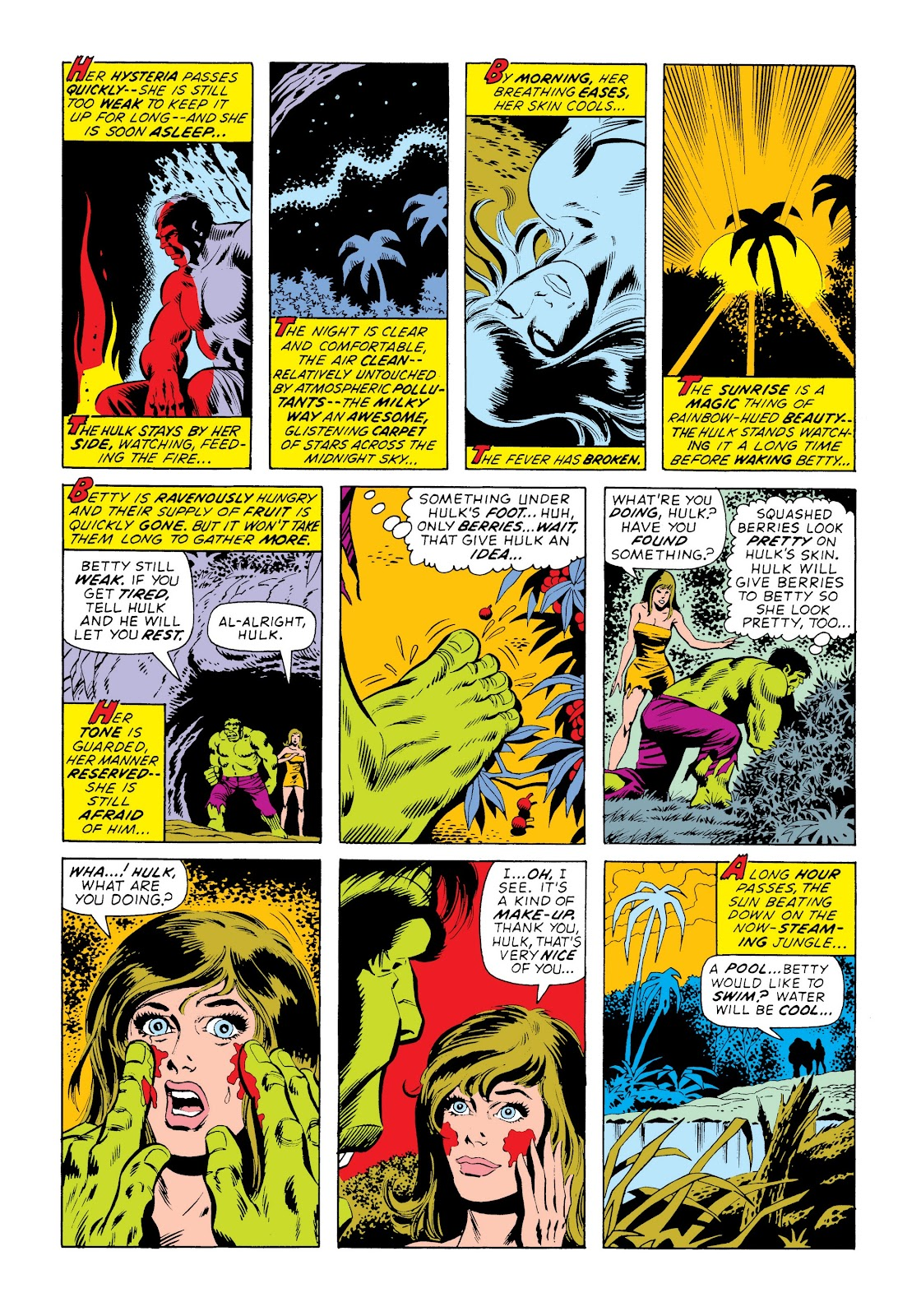 Read online Marvel Masterworks: The Incredible Hulk comic -  Issue # TPB 9 (Part 3) - 88